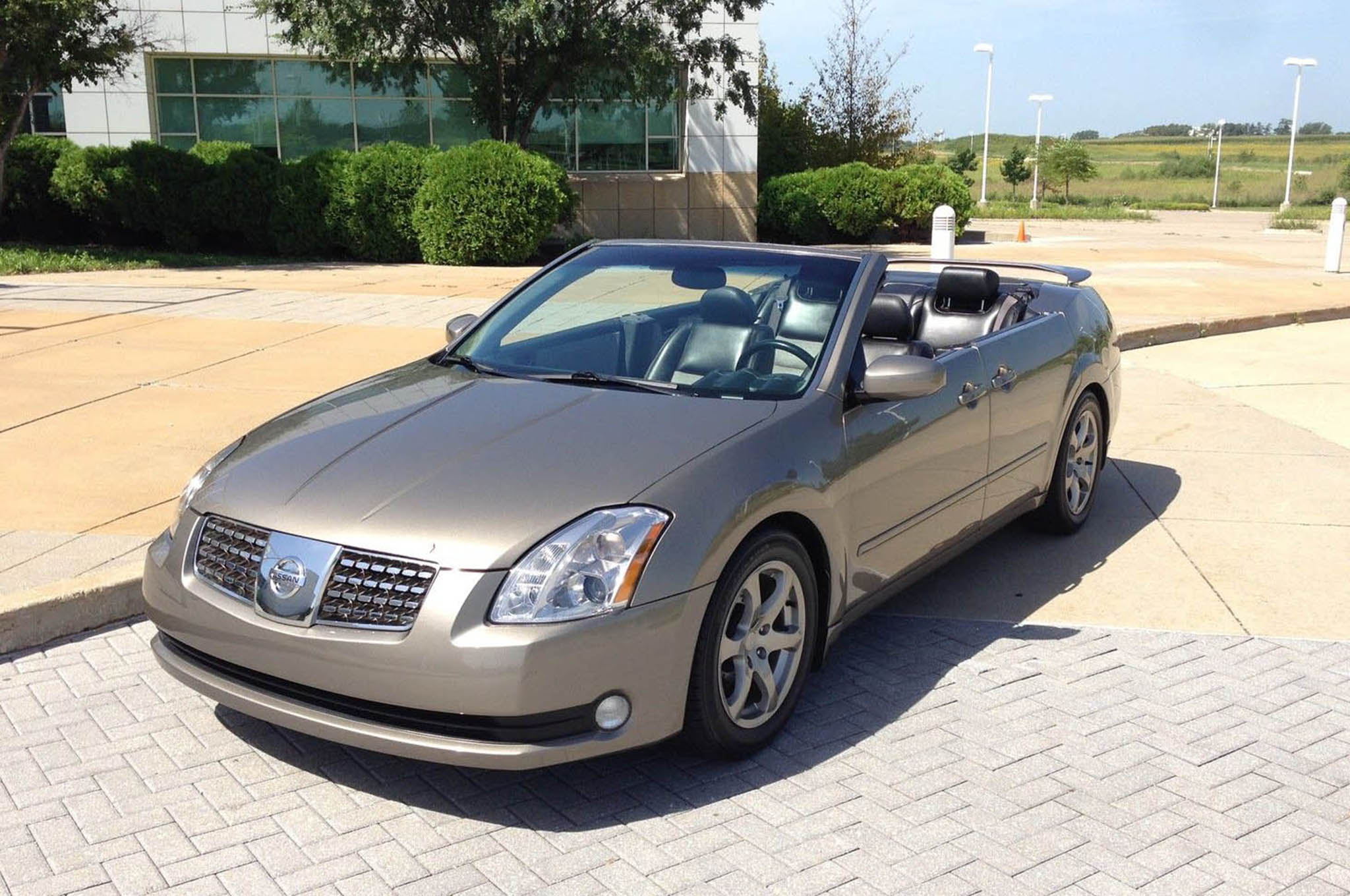 2004 Nissan Maxima Convertible is a Strange eBay Find