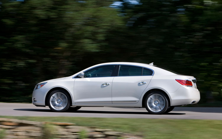 nhtsa bestows 2011 buick lacrosse with five star crash rating. Black Bedroom Furniture Sets. Home Design Ideas