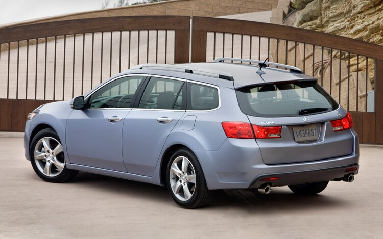New York 2010: 2011 Acura TSX Sport Wagon Debuts With New Grille