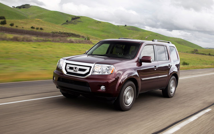 2012 honda pilot facelifted tweaked for fuel economy. Black Bedroom Furniture Sets. Home Design Ideas