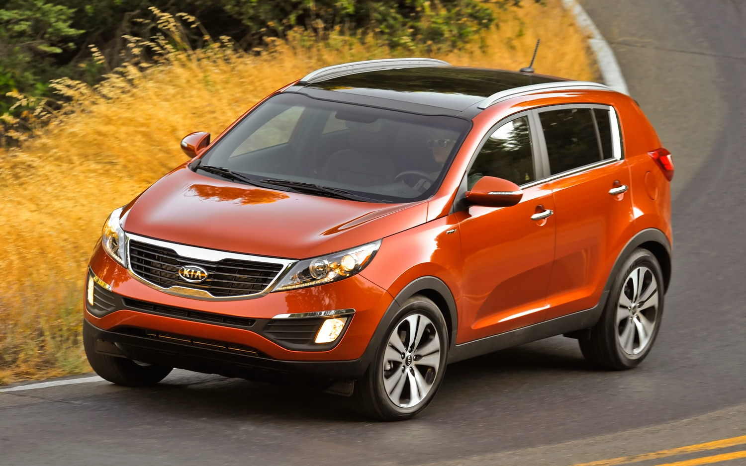 2011 kia sportage ex awd editor 39 s notebook automobile magazine. Black Bedroom Furniture Sets. Home Design Ideas