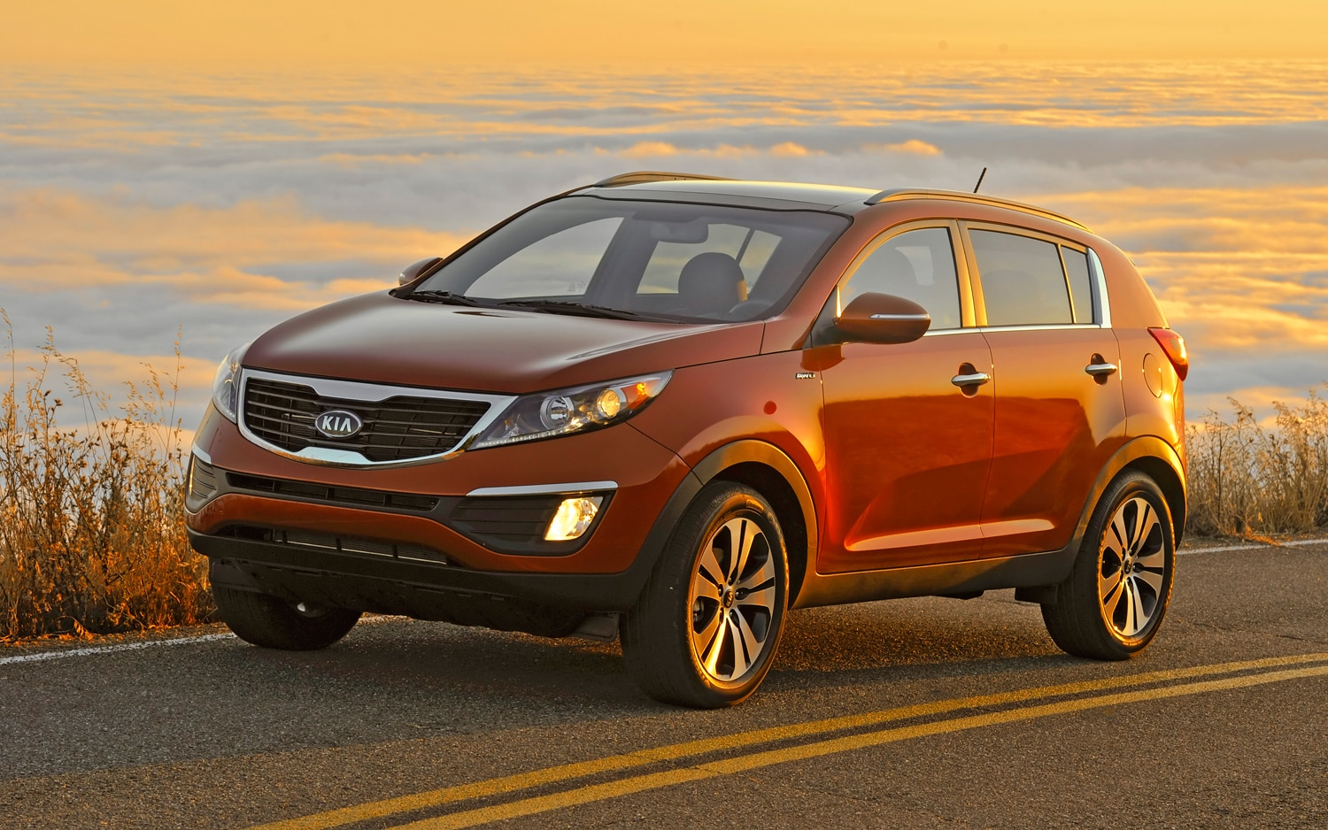 2011 kia sportage sx first drive automobile magazine. Black Bedroom Furniture Sets. Home Design Ideas