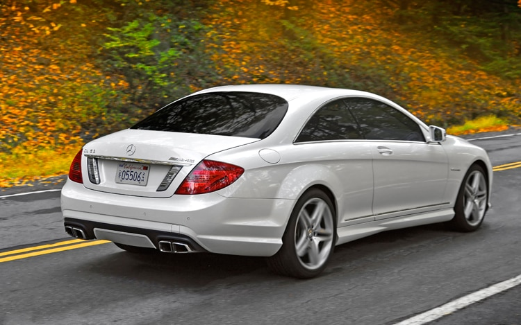 2011 mercedes benz cl63 amg editors 39 notebook automobile magazine. Black Bedroom Furniture Sets. Home Design Ideas