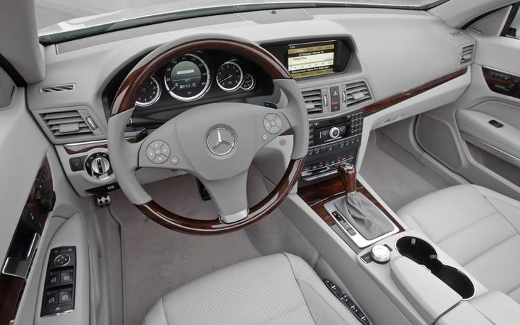 2011 mercedes benz e63 amg automobile magazine for Mercedes benz e350 interior