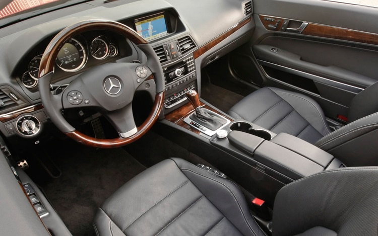 2011 mercedes benz e class cabriolet mercedes benz for Mercedes benz inside view