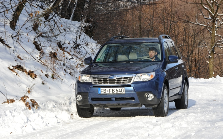 2011 Subaru Forester To Receive New Engine Features