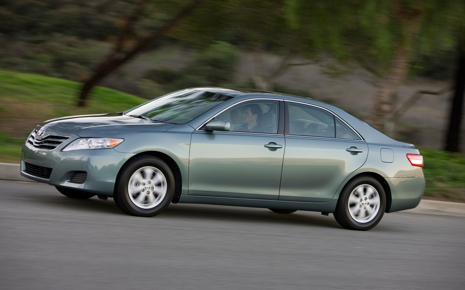 2011 toyota camry front three quarters in motion 2011 may prove the best year ever for ford's fusion  at reclaimingppi.co