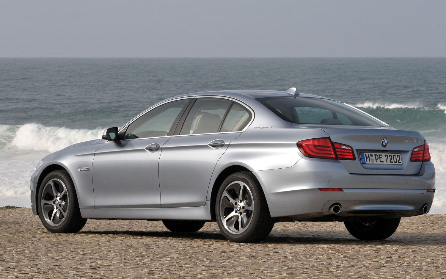 how to start bmw 5 series