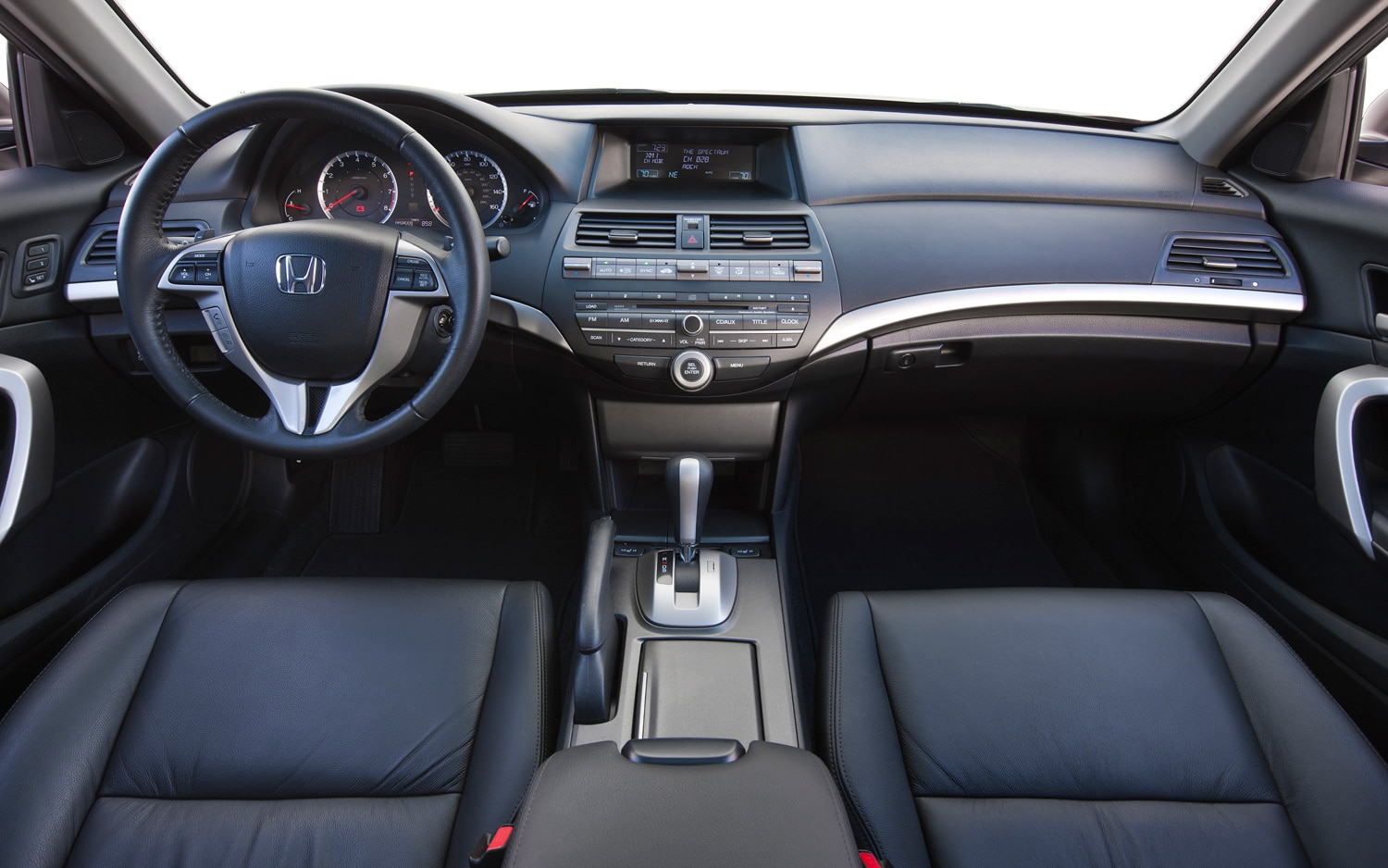 Spied: 2013 Honda Accord Interior Has Pandora, Manual ... Honda Accord 2012 Coupe Interior