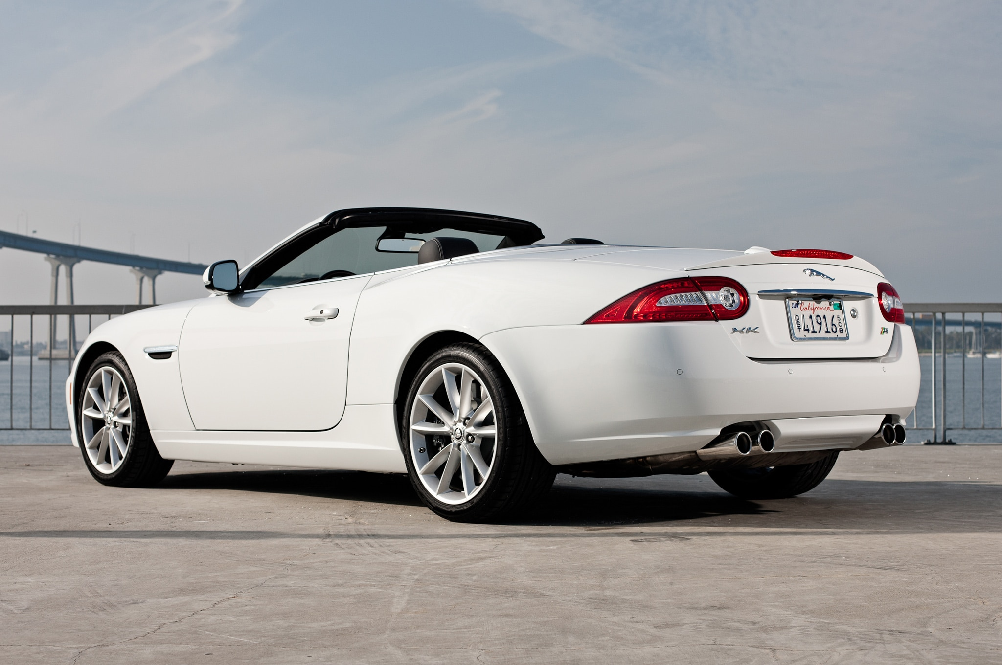 first look 2012 jaguar xkr s convertible automobile magazine. Black Bedroom Furniture Sets. Home Design Ideas