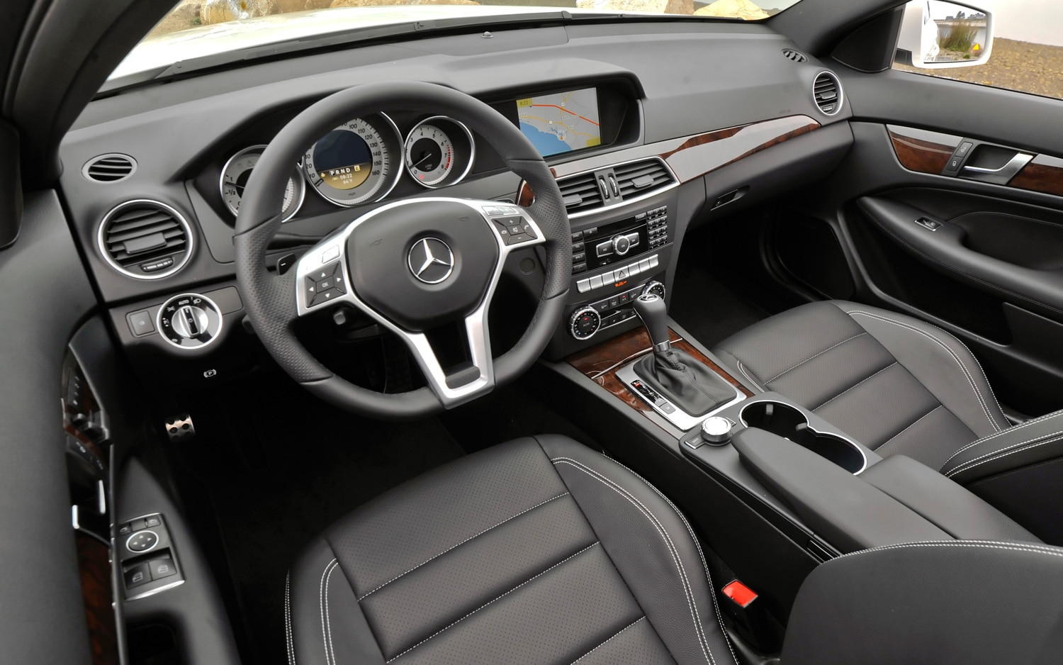 2012 mercedes benz c350 coupe editors 39 notebook automobile magazine. Black Bedroom Furniture Sets. Home Design Ideas