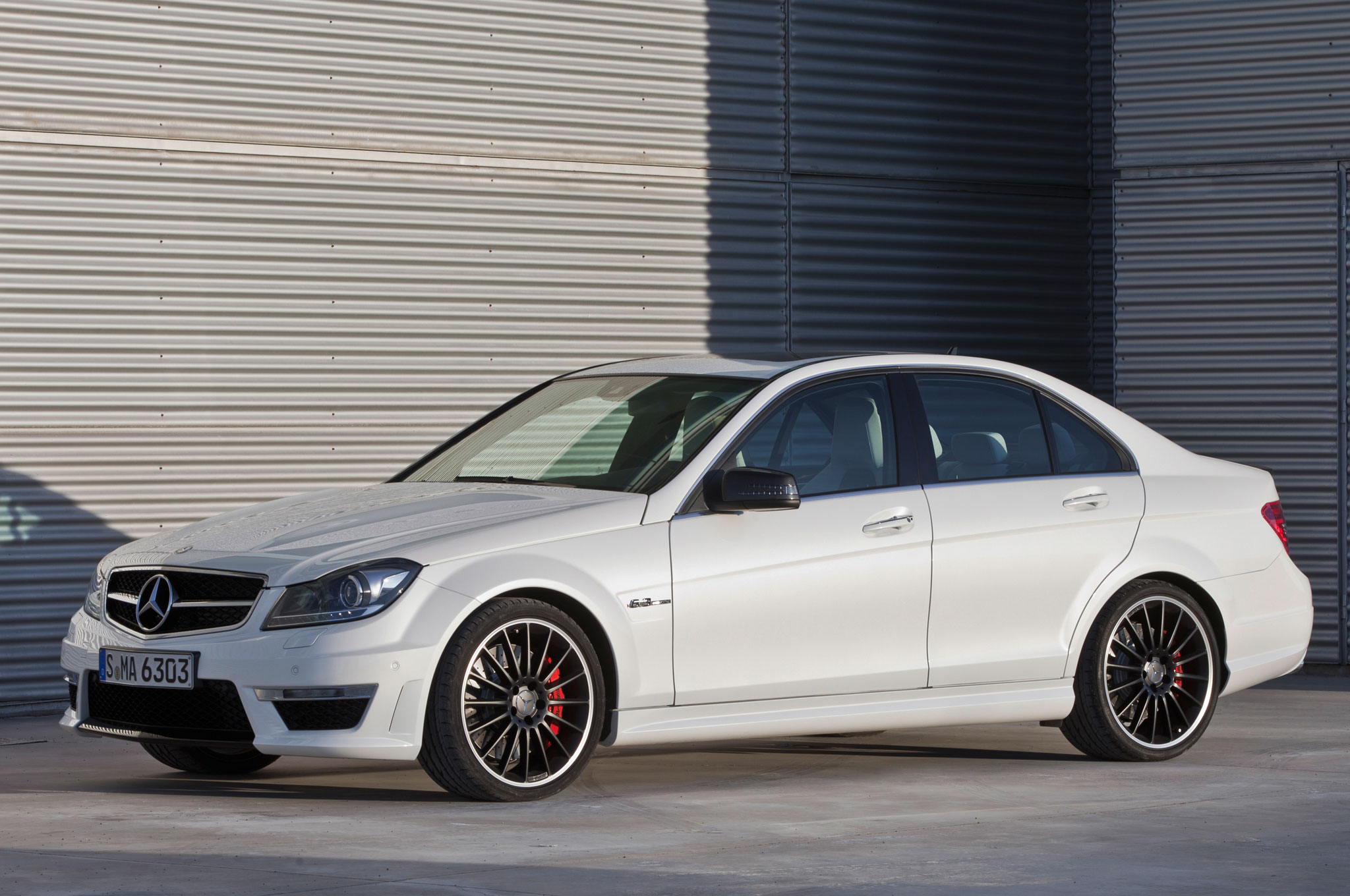 2012 mercedes benz c63 amg coupe black series editors for Mercedes benz c63 amg sedan