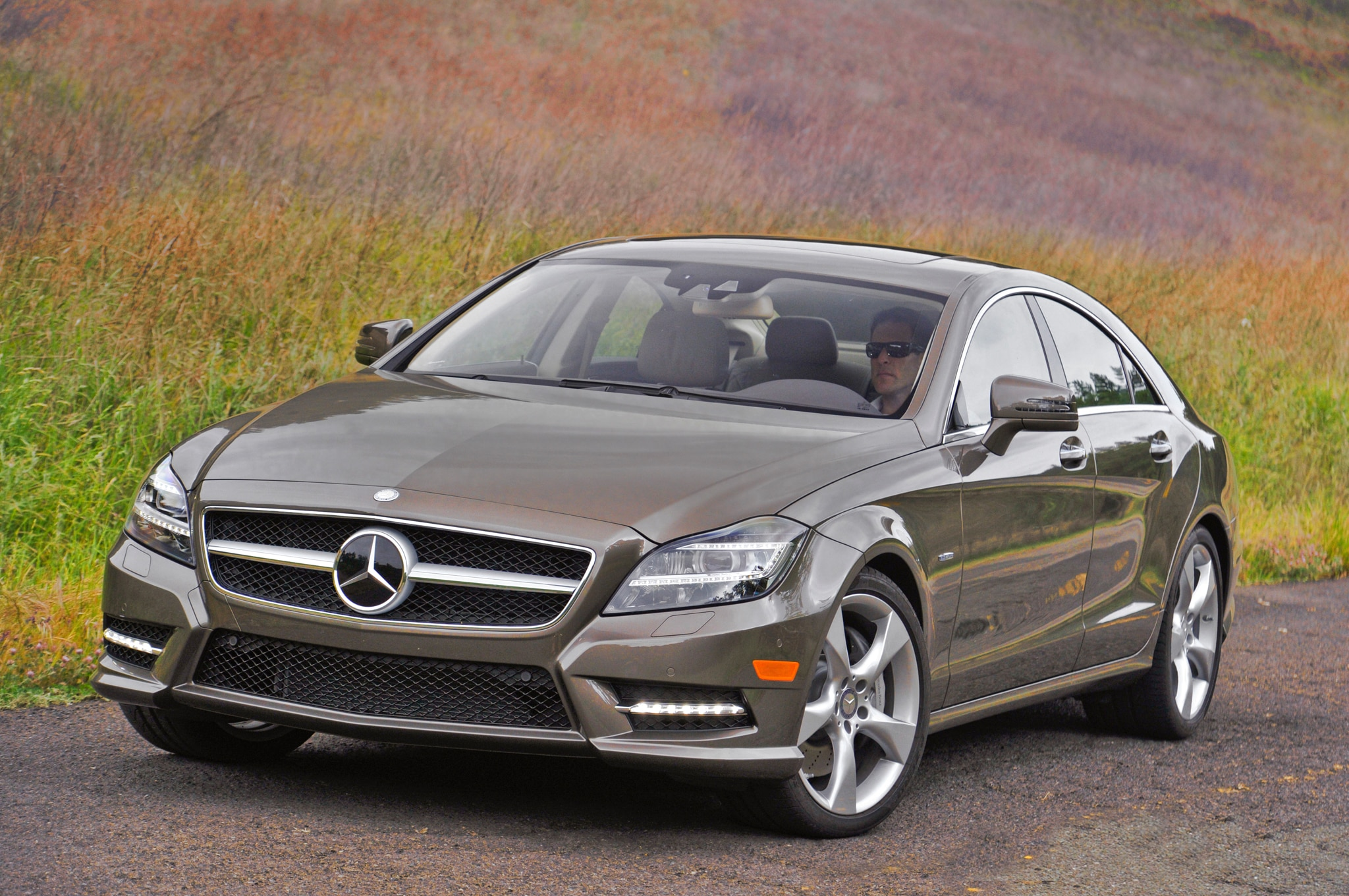 2012 mercedes benz cls550 4matic editor 39 s notebook