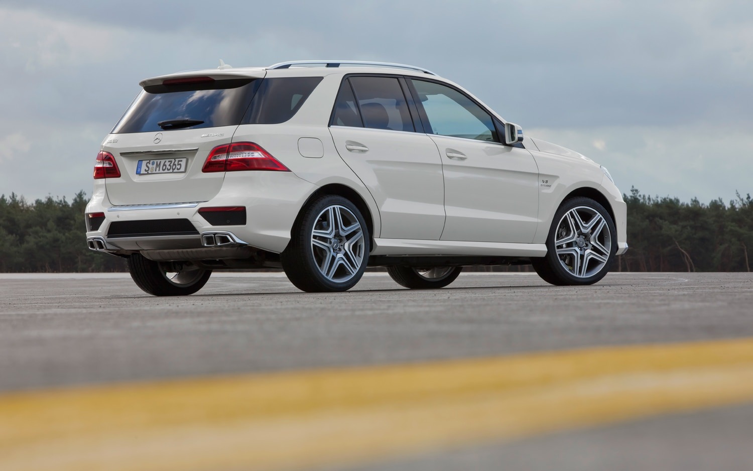 first drive 2012 mercedes benz ml63 amg automobile magazine