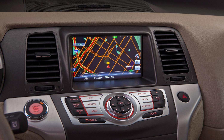 Nissan Murano Interior Navigation Screen