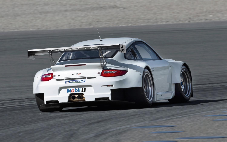 2012 porsche 911 gt3 rsr rear three quarter