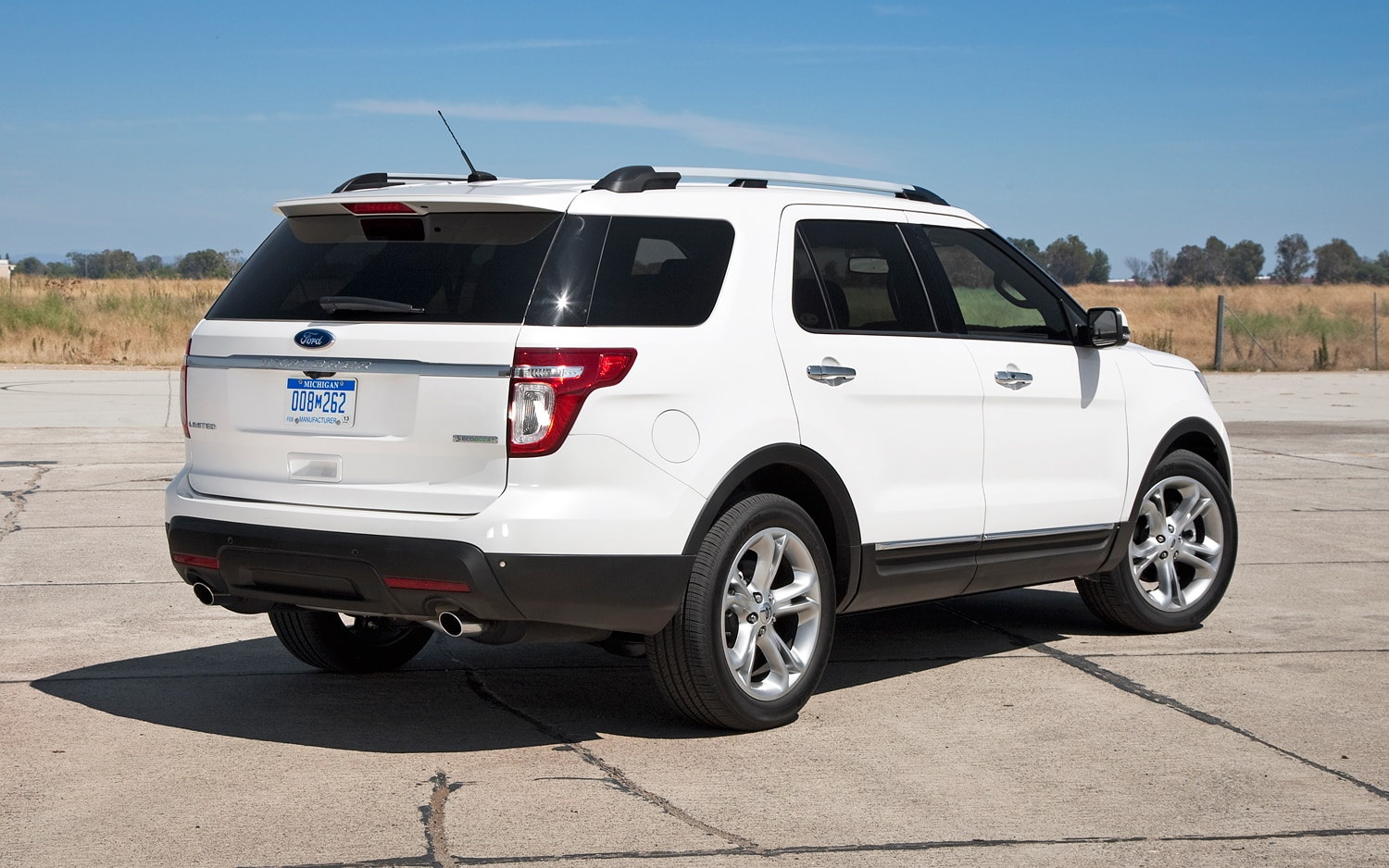 Freeze California Highway Patrol Chooses Ford Police