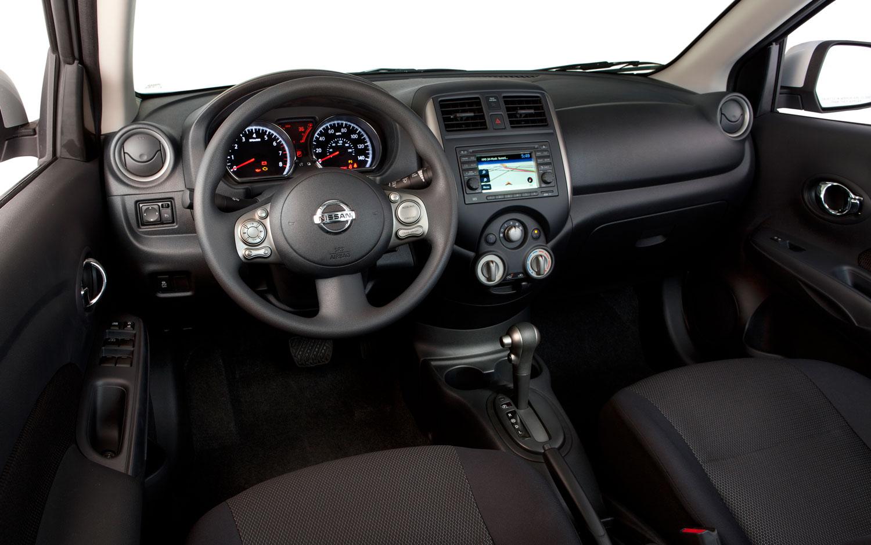 2012 nissan versa sedan sl editors notebook automobile magazine 2012 nissan versa sedan dashboard vanachro Images
