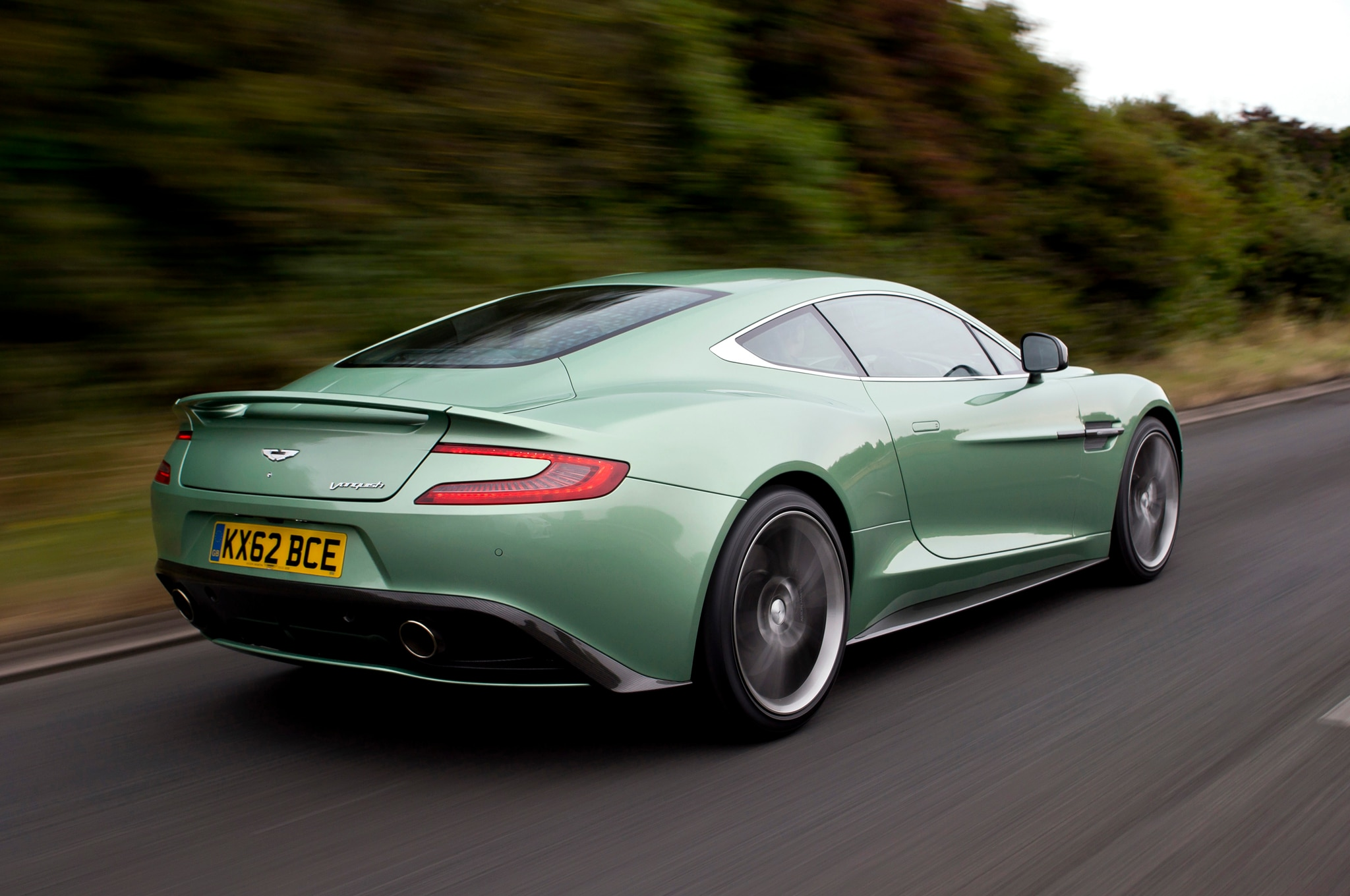 Aston Martin Unveils Centenary Edition Vanquish, DB9