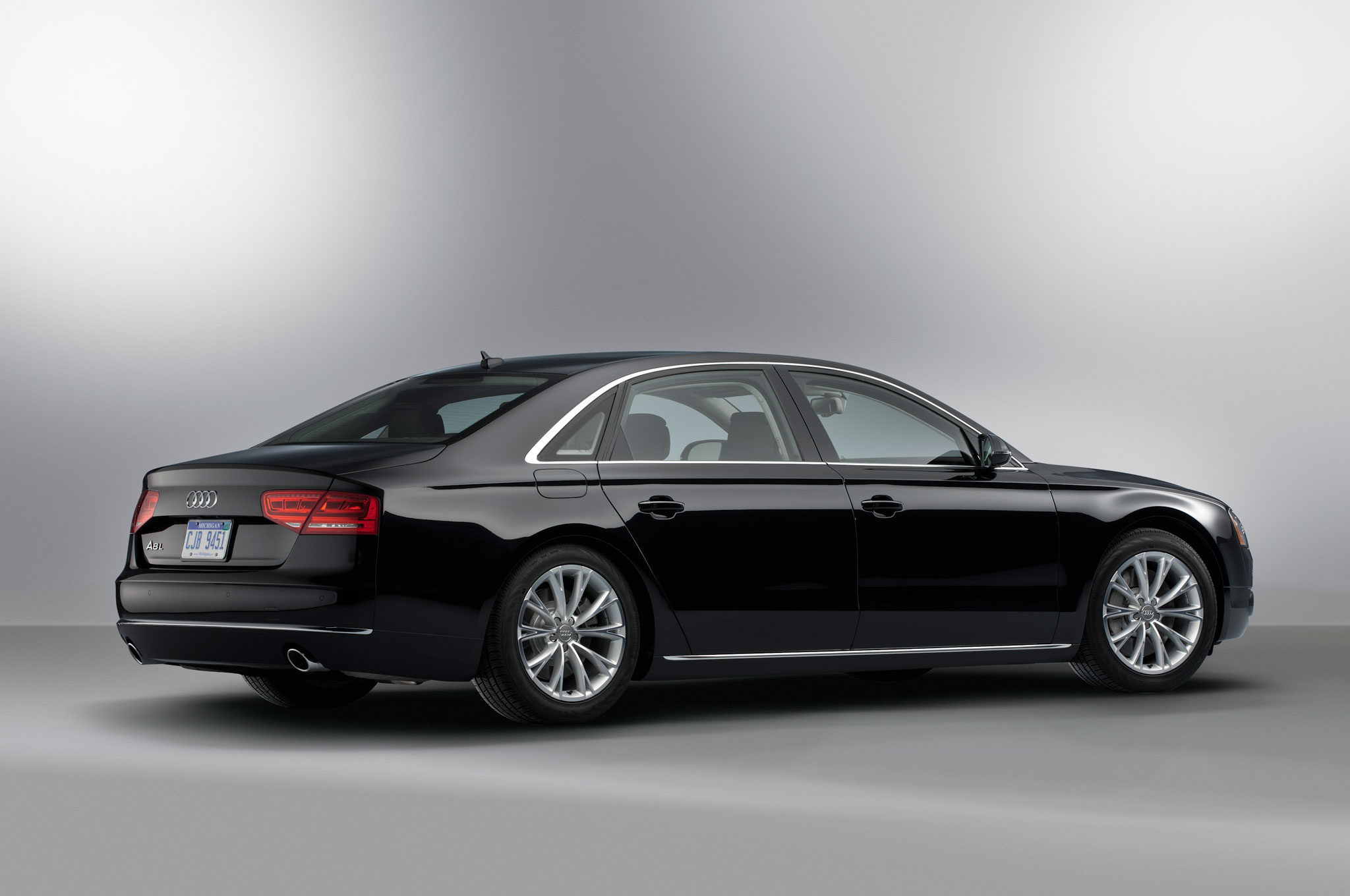 audi prices 2013 a8 3 0t at 73 095 a8 l w12 at 135 395. Black Bedroom Furniture Sets. Home Design Ideas