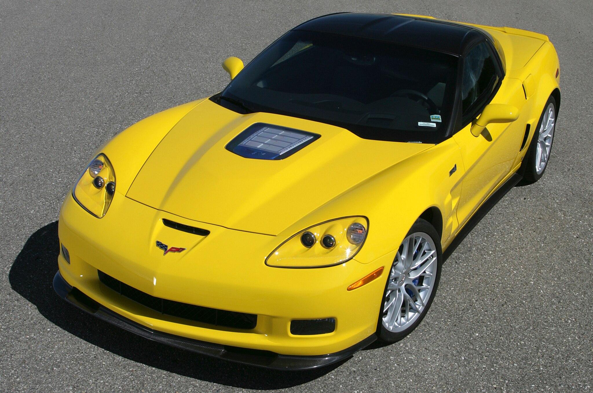 2013 Chevrolet Corvette ZR1. 56|159