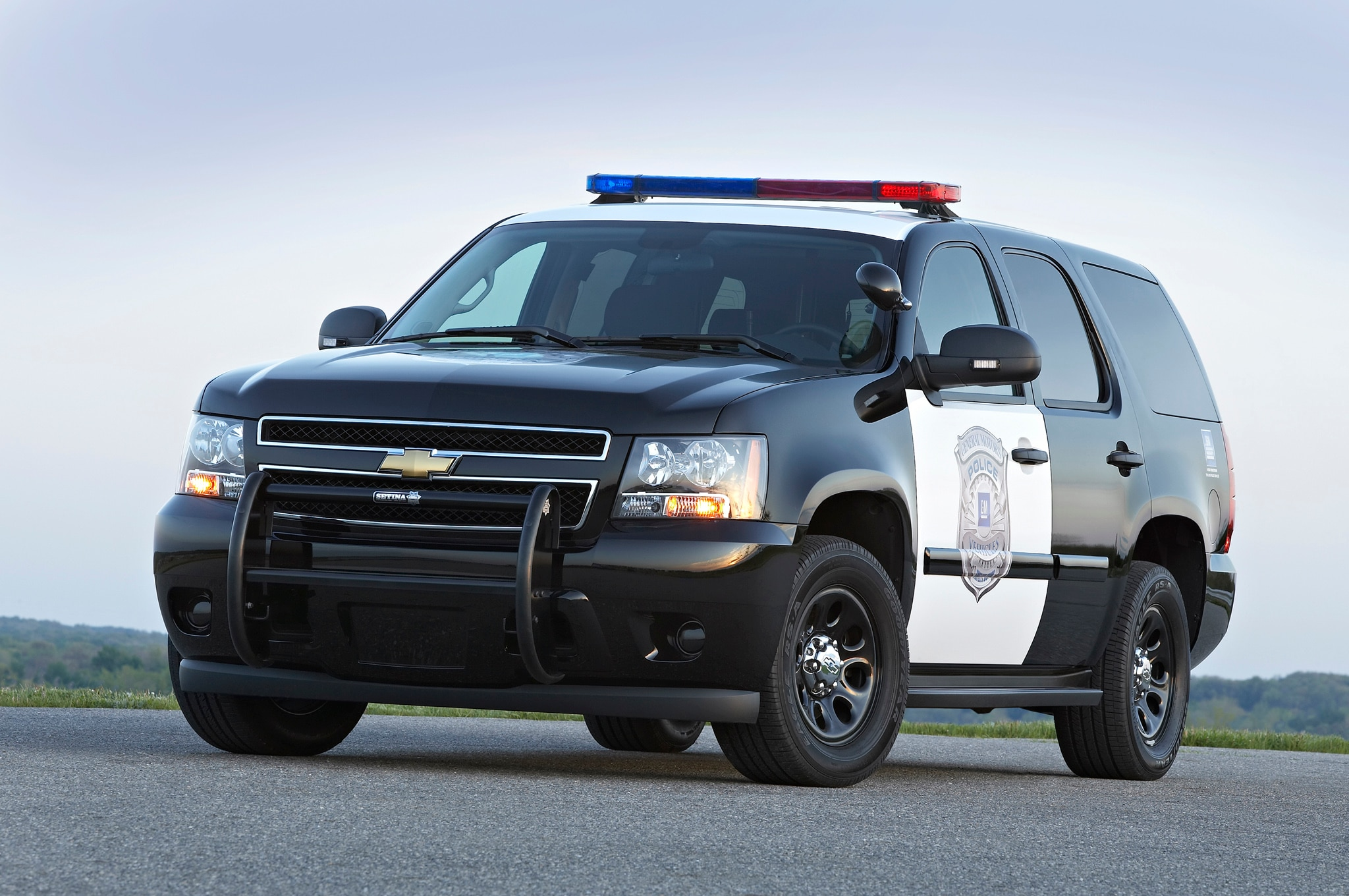 2013 Chevrolet Tahoe PPV Front Three Quarters 2 caught next gen 2014 chevy tahoe spied testing in michigan 2016 tahoe police package wiring diagrams at n-0.co