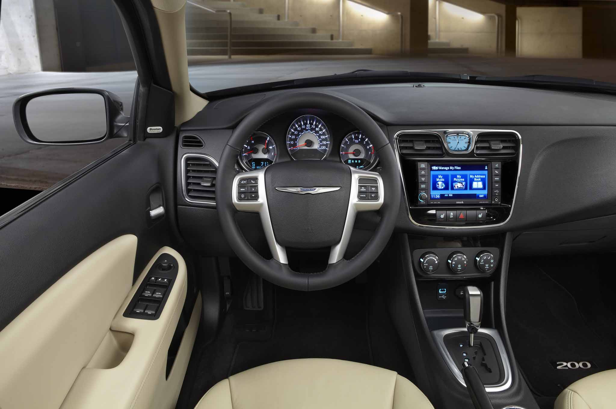 2013 Chrysler 200 Interior Driver Side Tan report chrysler 200 to become \