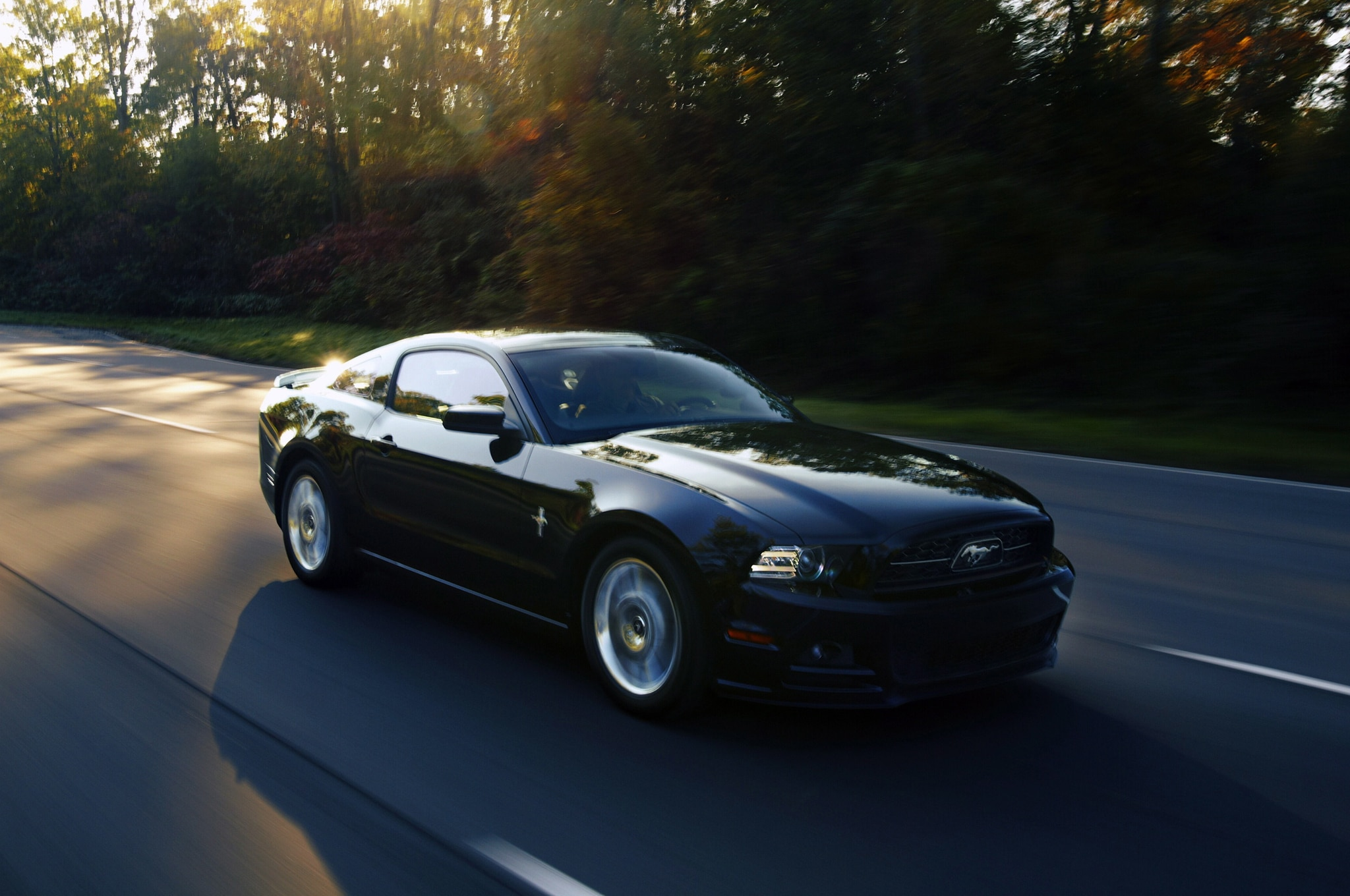 2013 ford shelby gt500 first drive automobile magazine. Black Bedroom Furniture Sets. Home Design Ideas