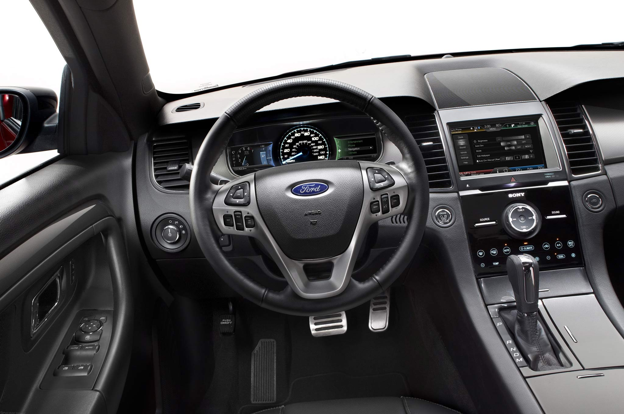 First Drive: 2013 Ford Taurus SHO Performance Package - Automobile Magazine
