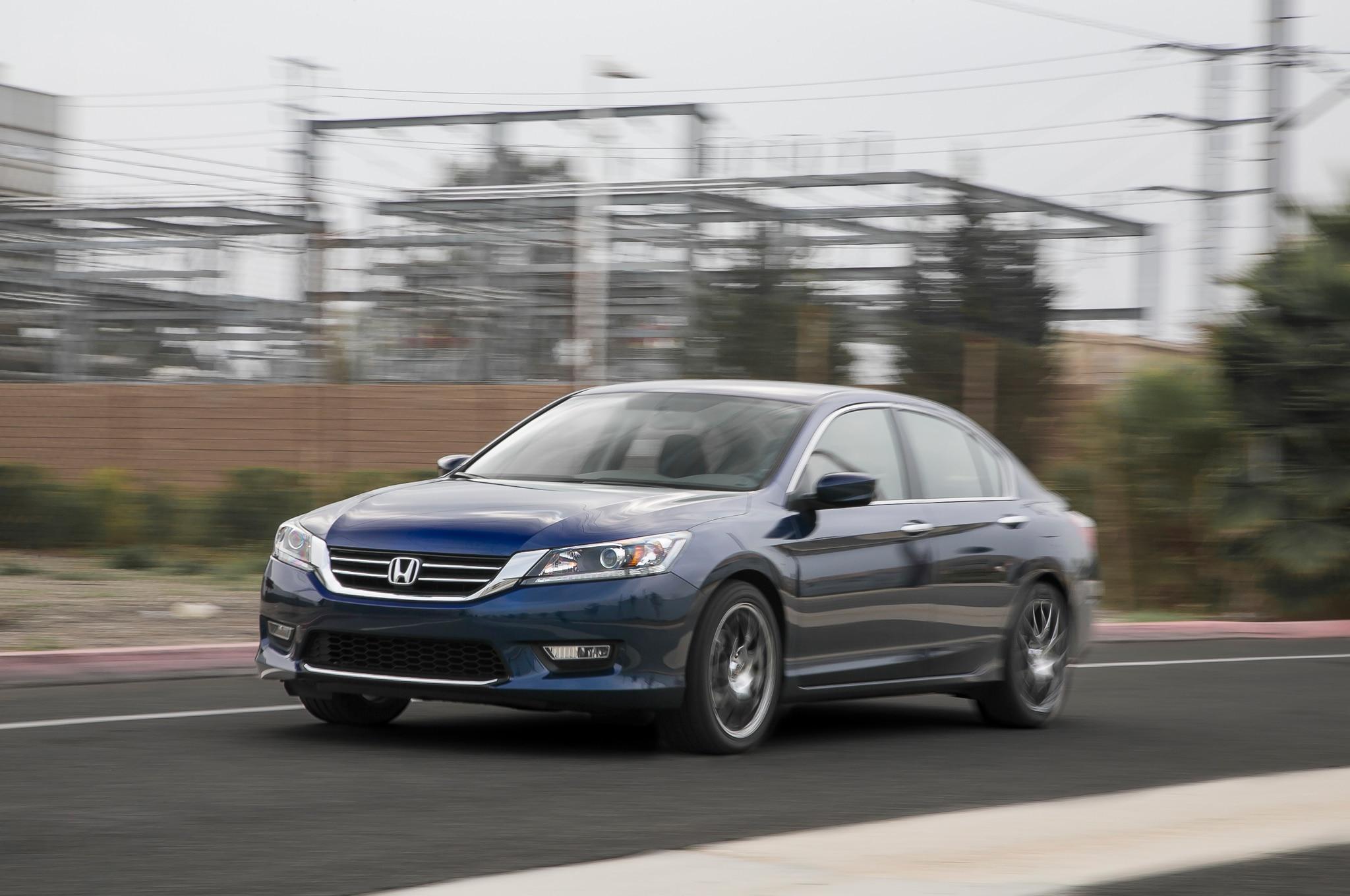 trend three sedan motor news quarters accord en front sport arrival honda