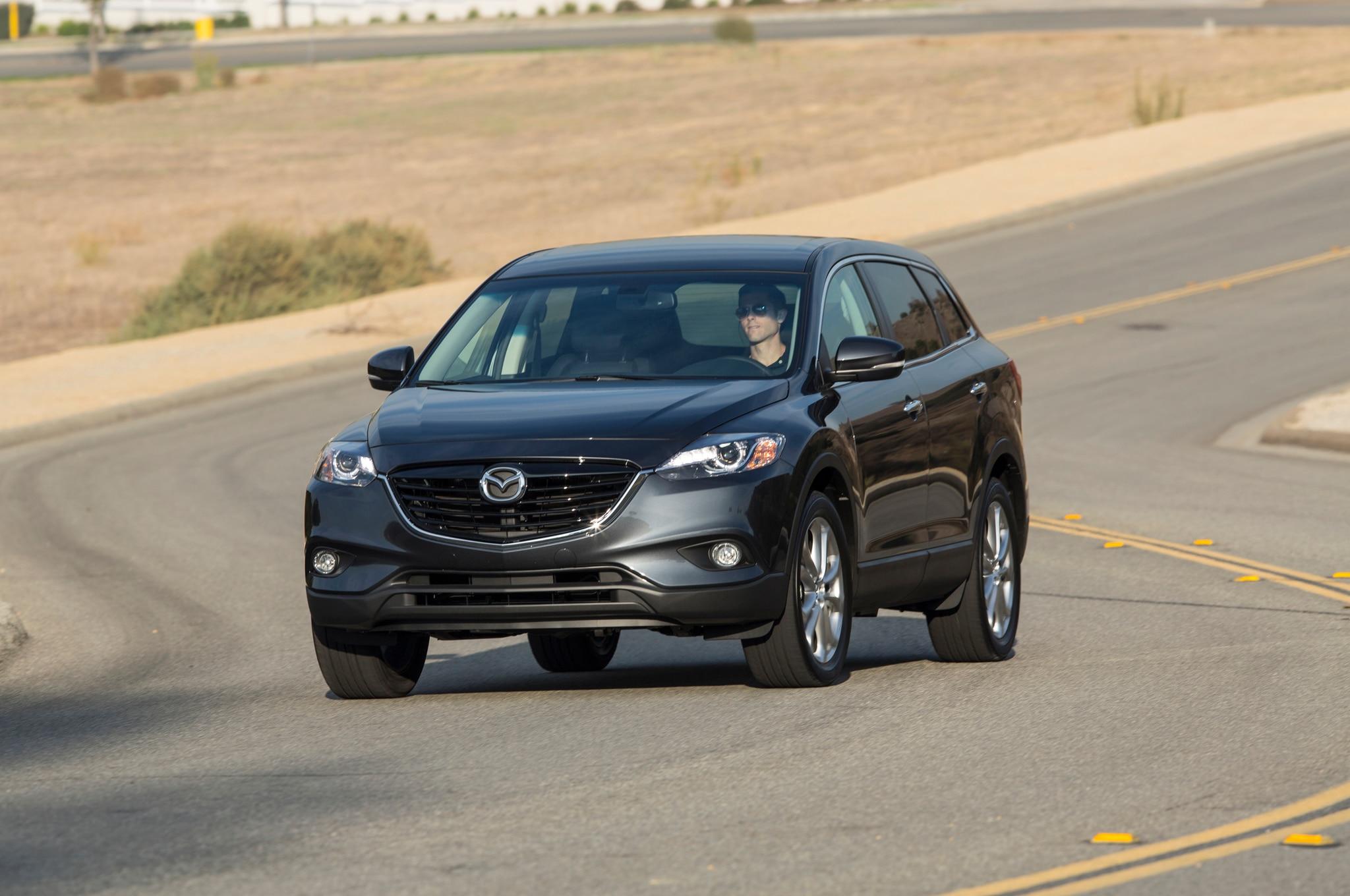 2013 Mazda CX 9 Front Profile 2013 mazda cx 9 grand touring editors' notebook automobile  at reclaimingppi.co