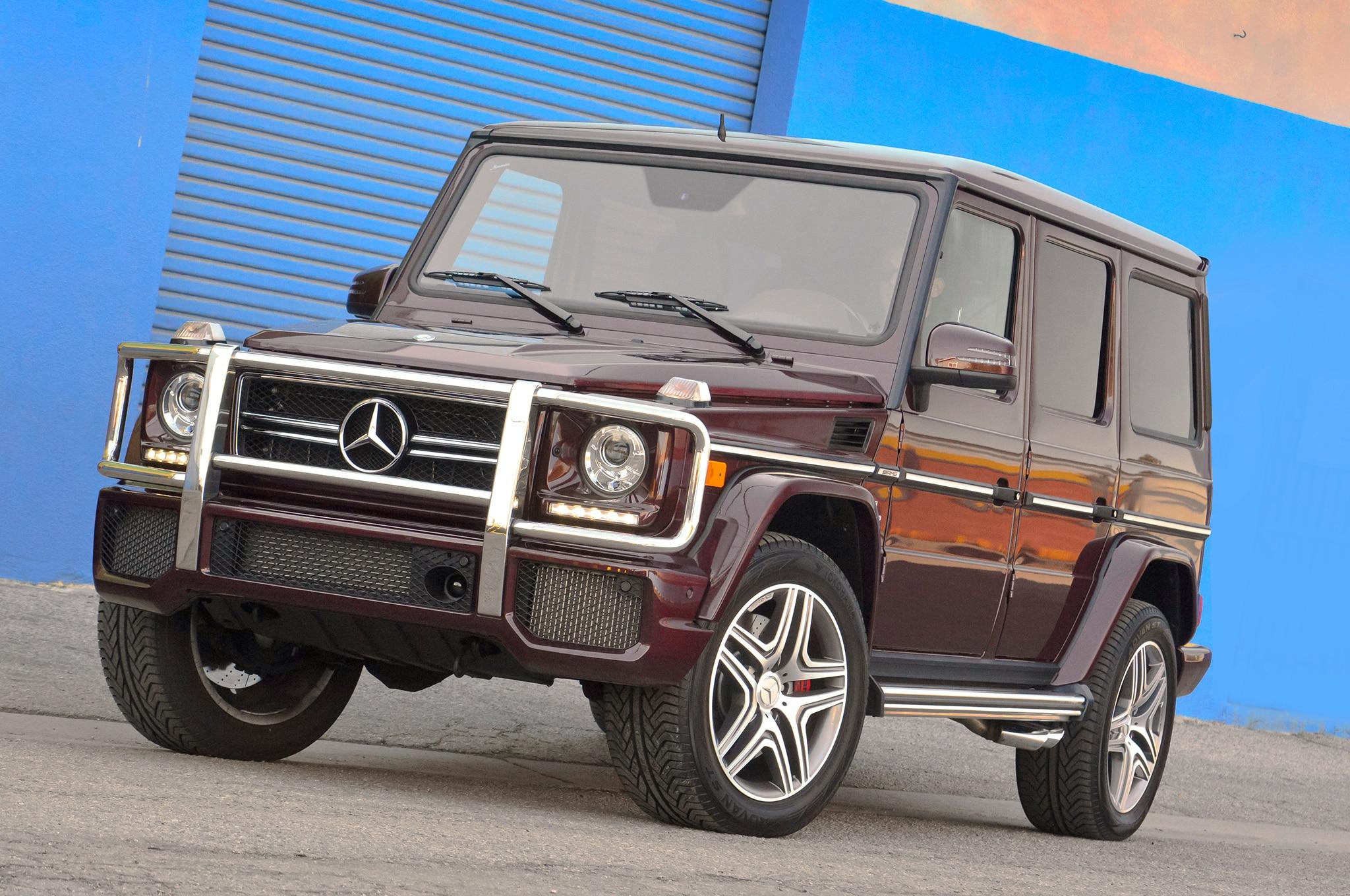 First Drive 2013 Mercedes Benz G63 Amg Automobile Magazine