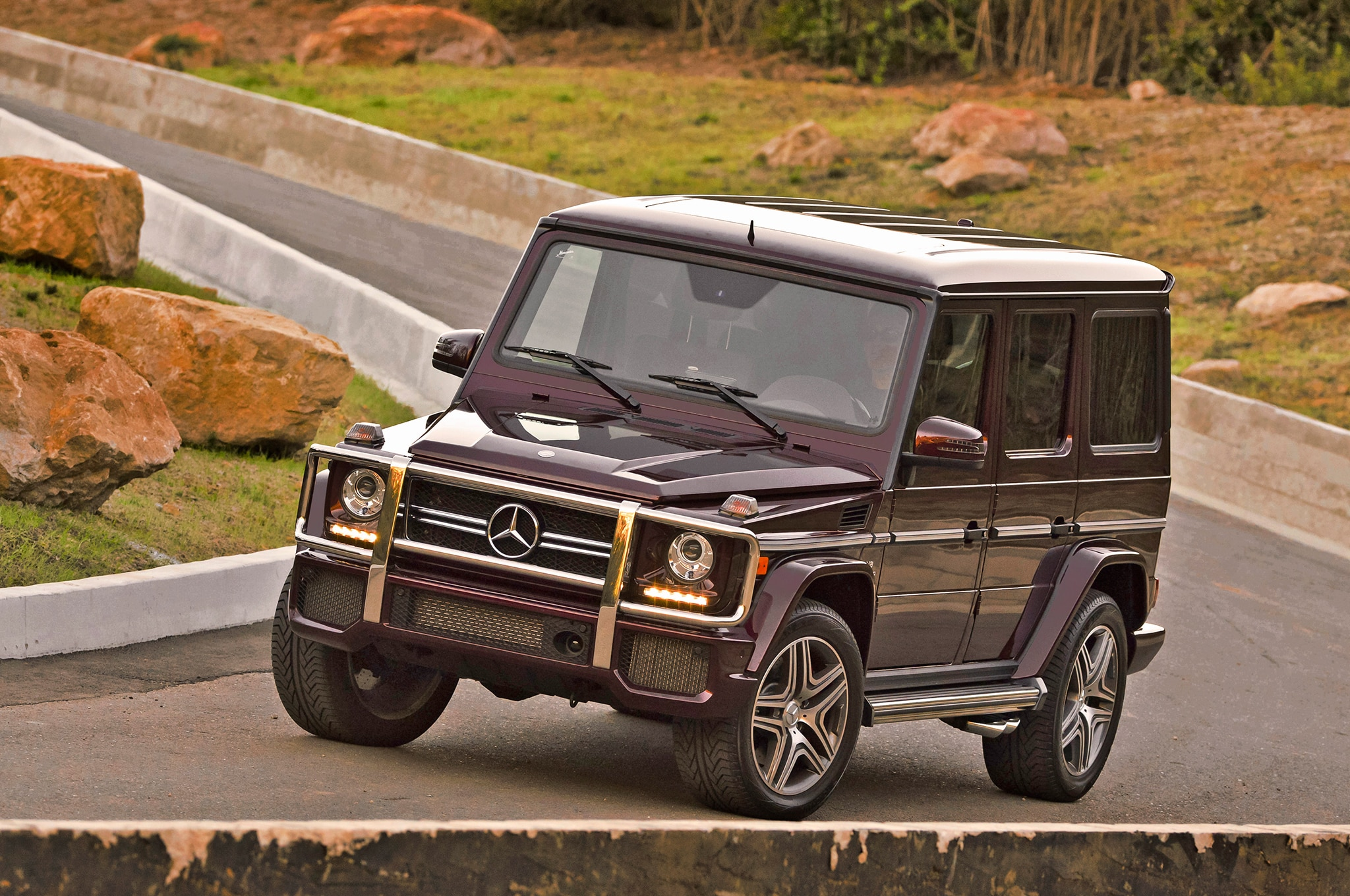 Mercedes Benz Builds G63 Amg 6x6