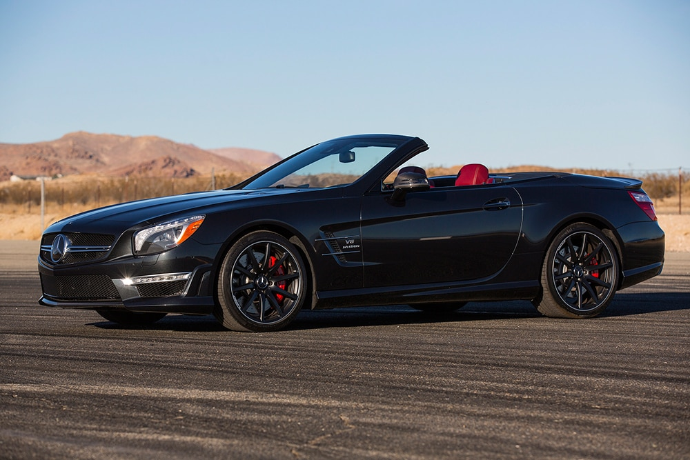 first drive 2013 mercedes benz sl63 amg automobile magazine. Black Bedroom Furniture Sets. Home Design Ideas