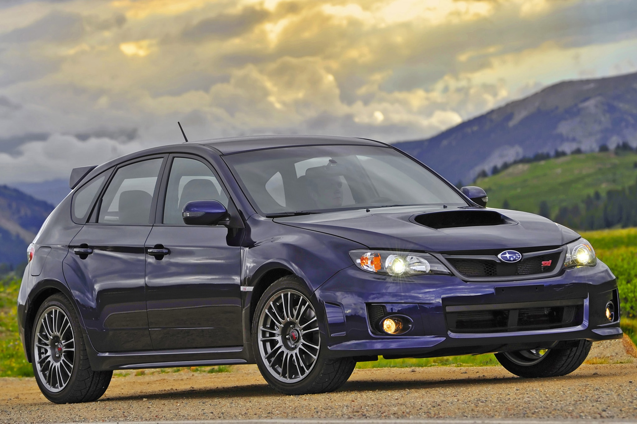 video taking a subaru wrx sti to rally school. Black Bedroom Furniture Sets. Home Design Ideas