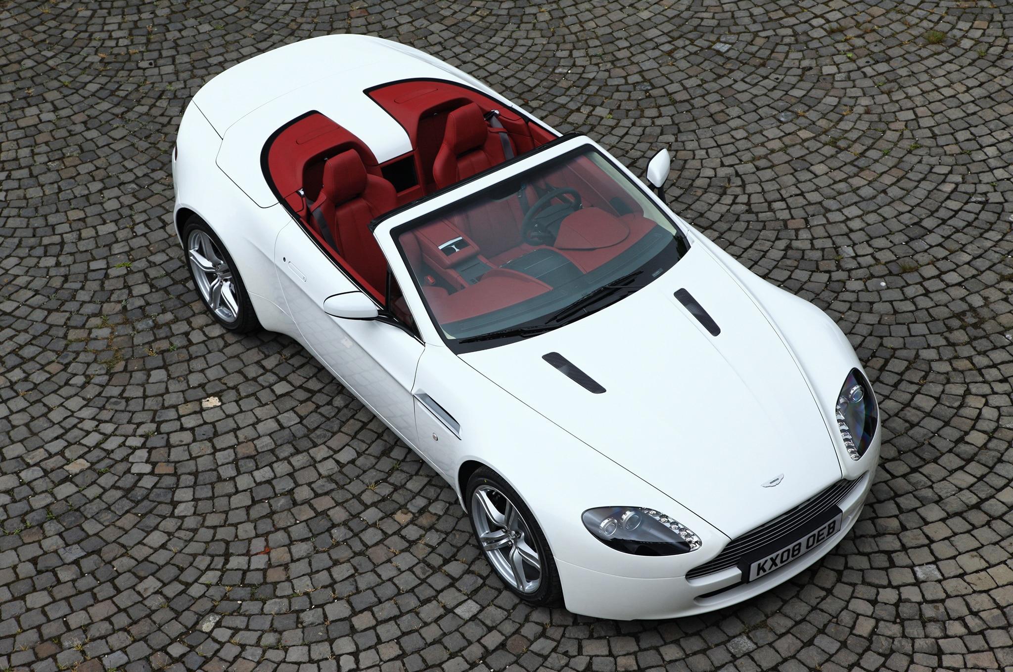 aston martin debuts v8 vantage n430, db9 carbon special editions