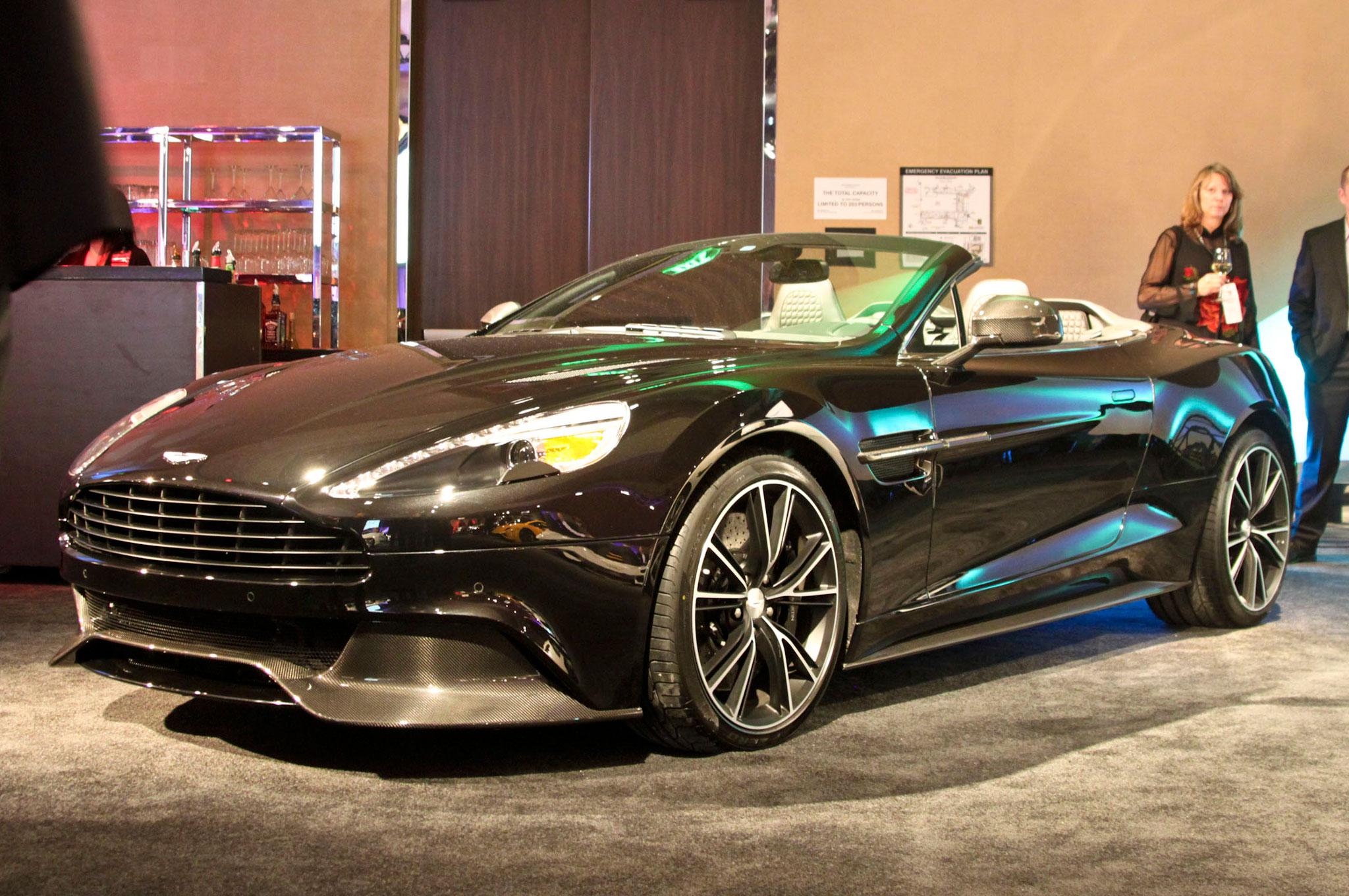 2014 Aston Martin Vanquish Volante Review - Automobile Magazine
