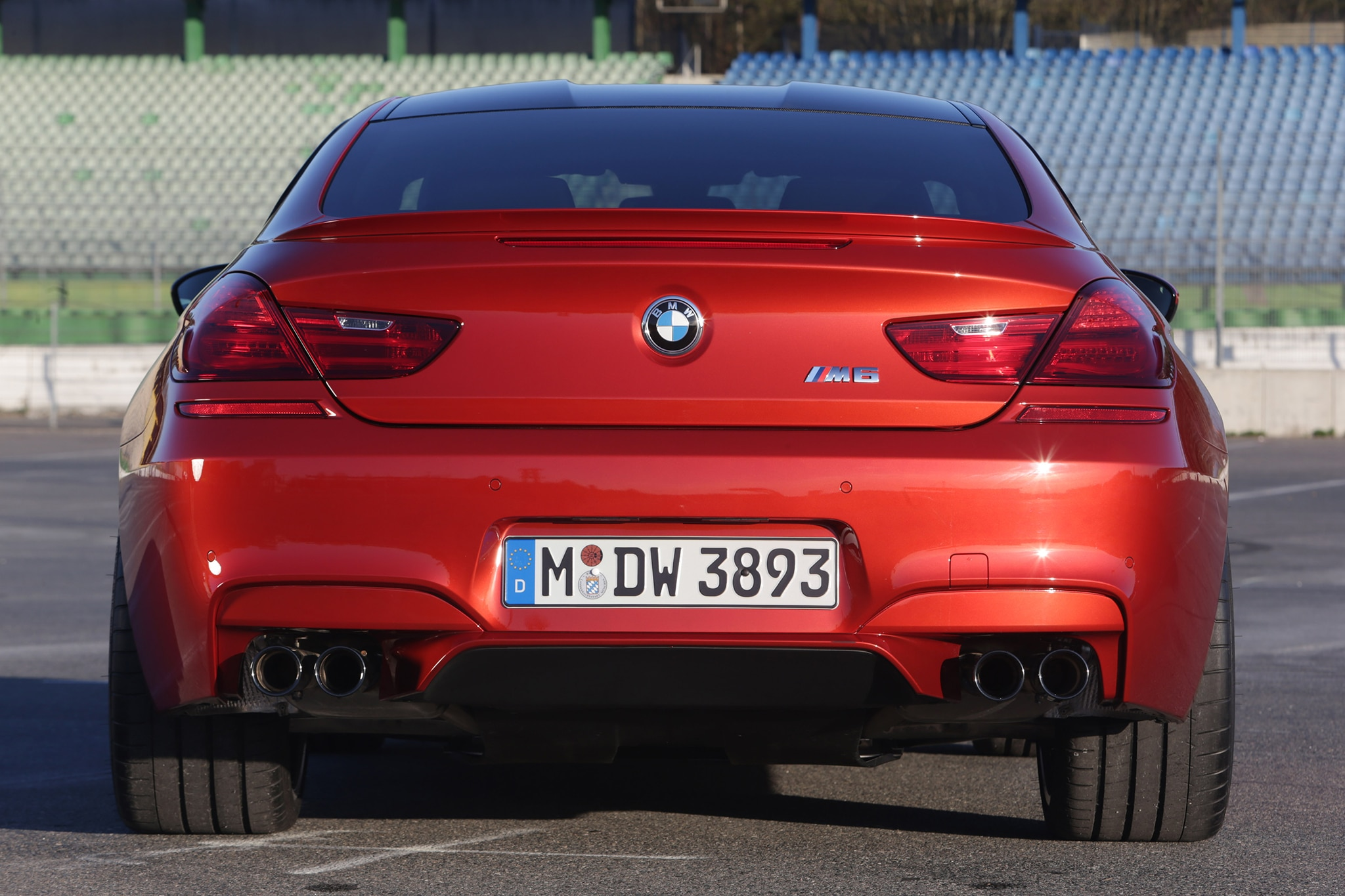 2014 BMW M6 Gran Coupe at Circuit of the Americas  Automobile