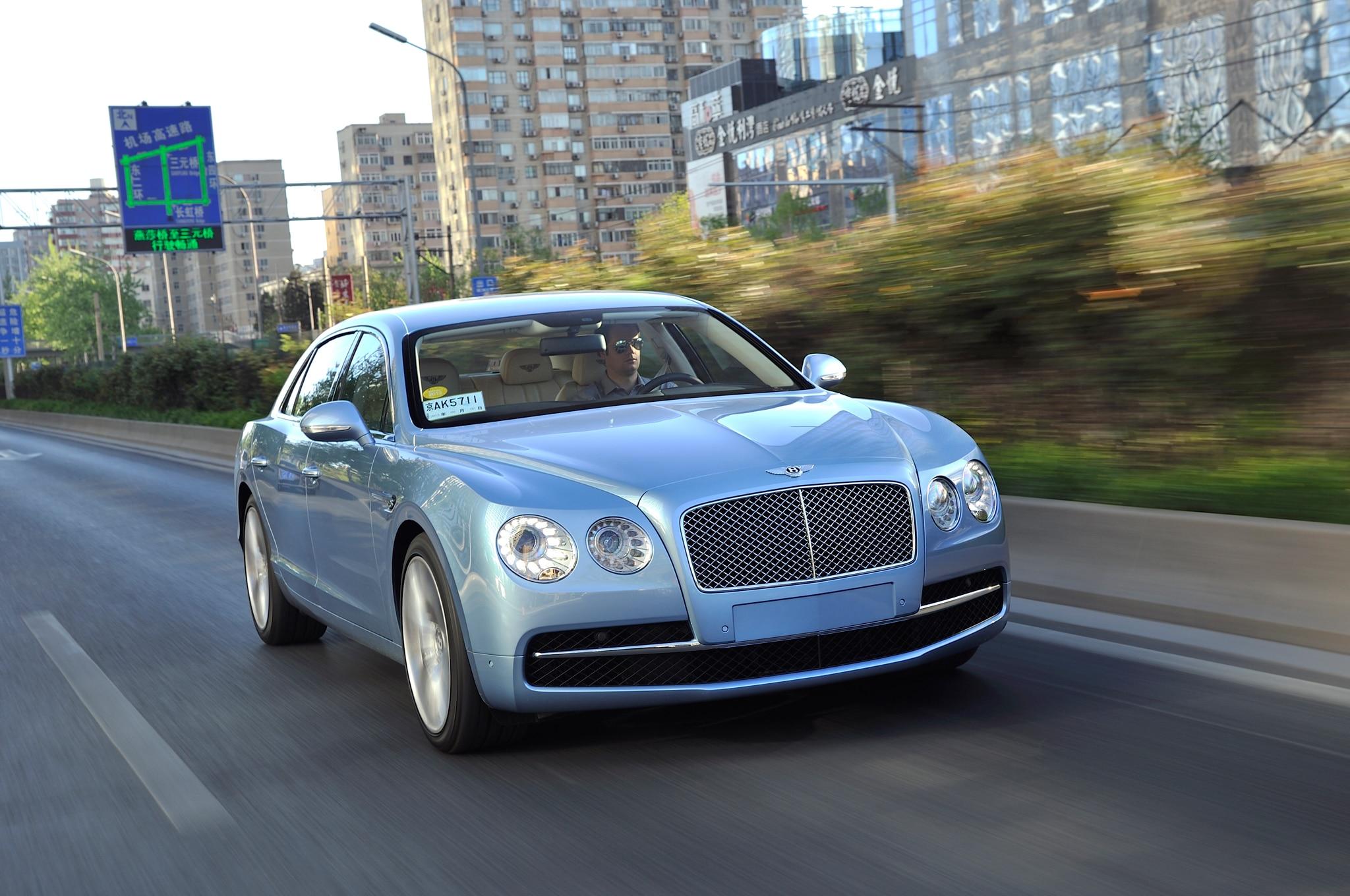 First Look: 2014 Bentley Flying Spur