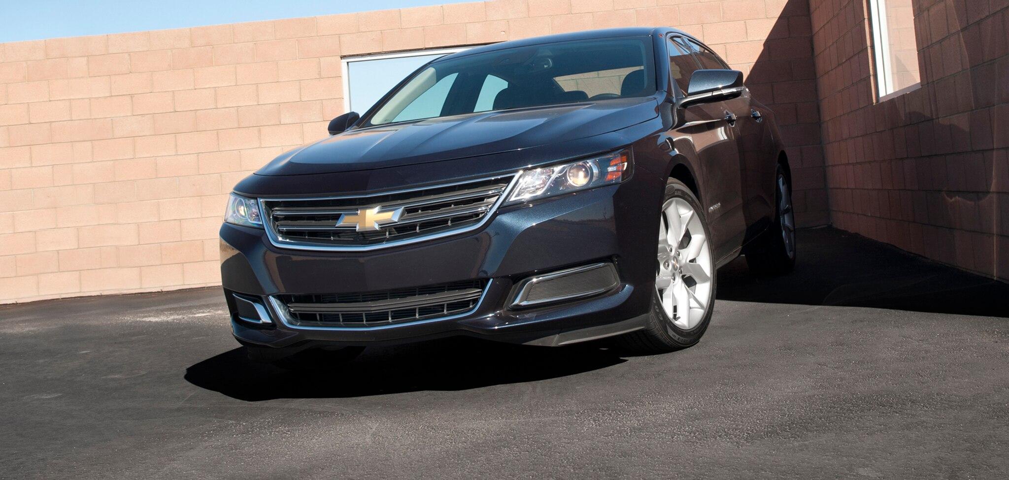 cng fueled 2015 chevrolet impala introduced. Black Bedroom Furniture Sets. Home Design Ideas