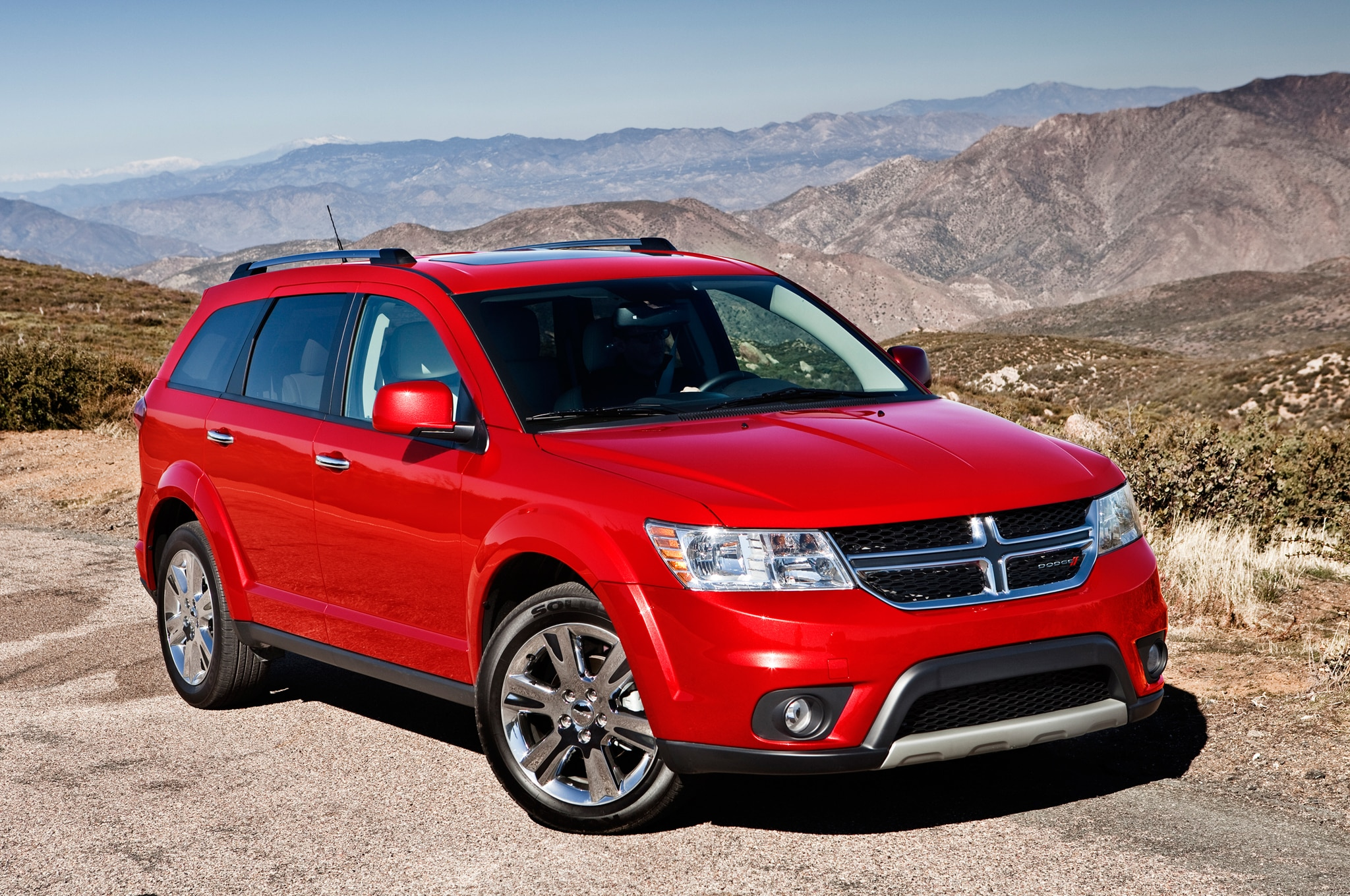2014 Dodge Journey front three quarters view 2014 dodge journey se v 6 awd priced at $25,890 automobile magazine 2016 dodge journey fuse box diagram at reclaimingppi.co
