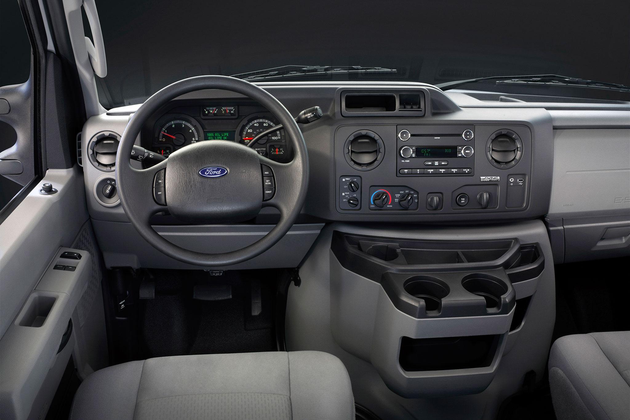 Roush Unveils Propane-powered Ford E-250 Vans