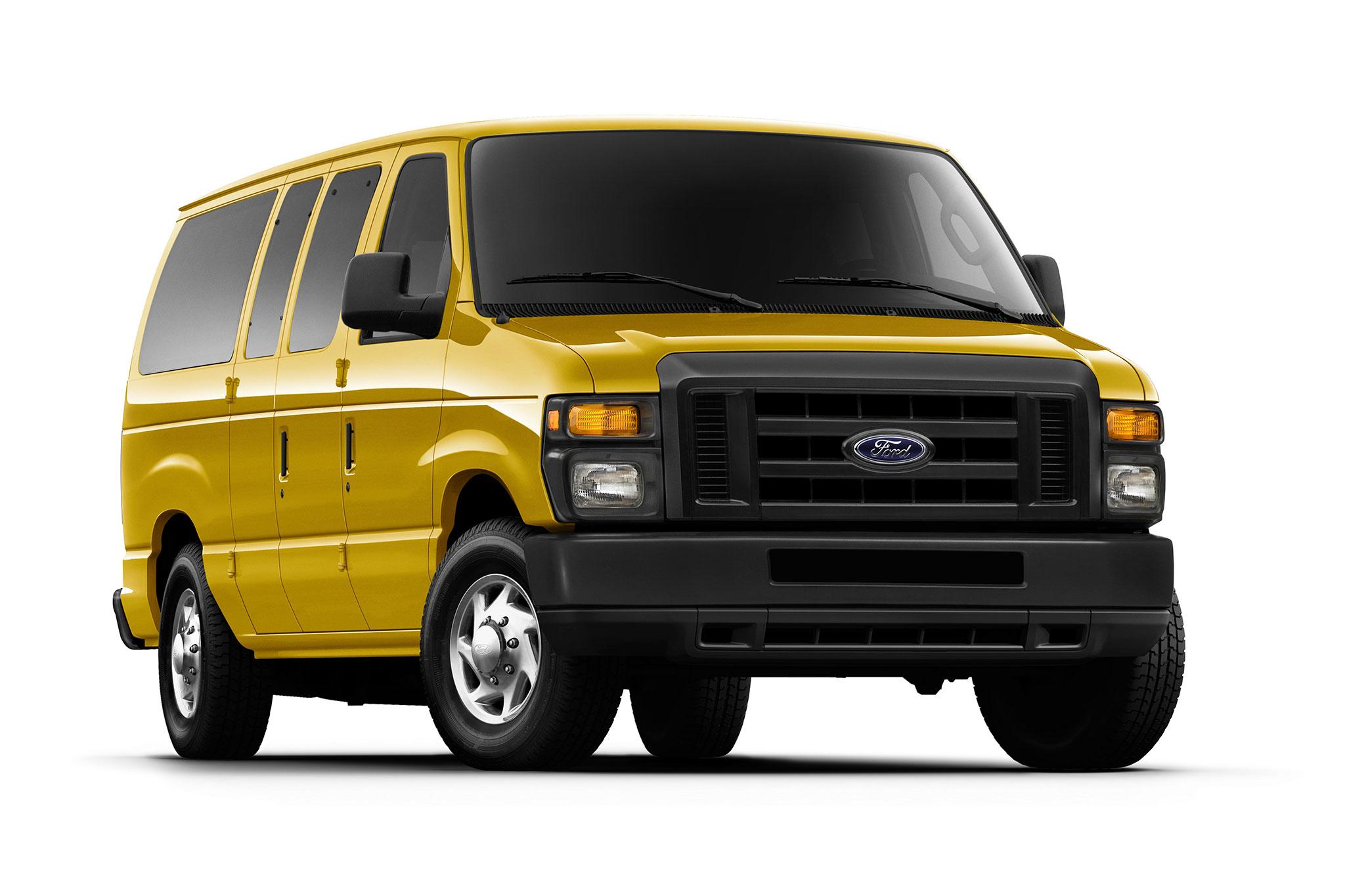 roush unveils propane powered ford e 250 vans fuel. Black Bedroom Furniture Sets. Home Design Ideas