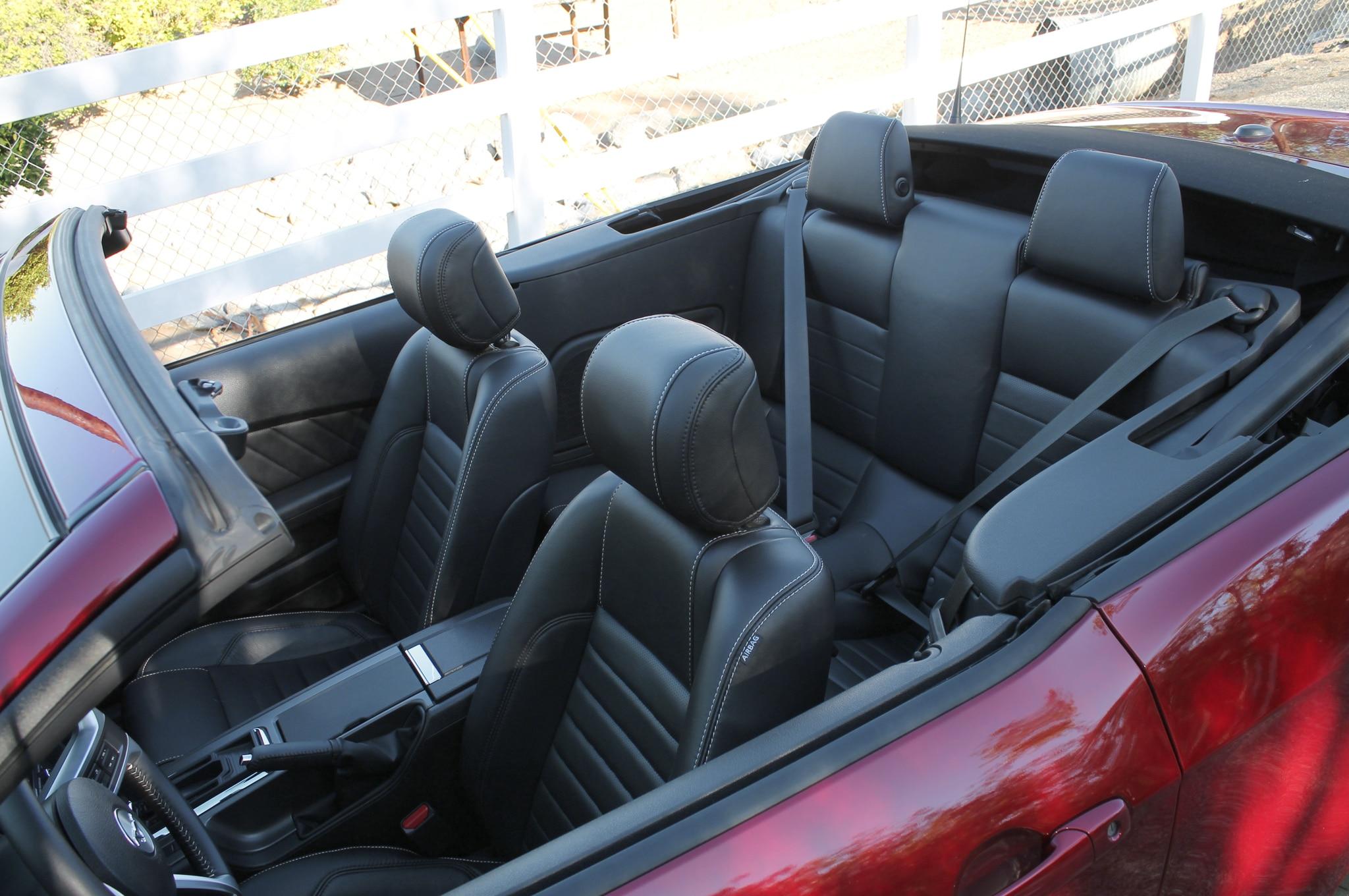 2014 ford mustang v8 convertible