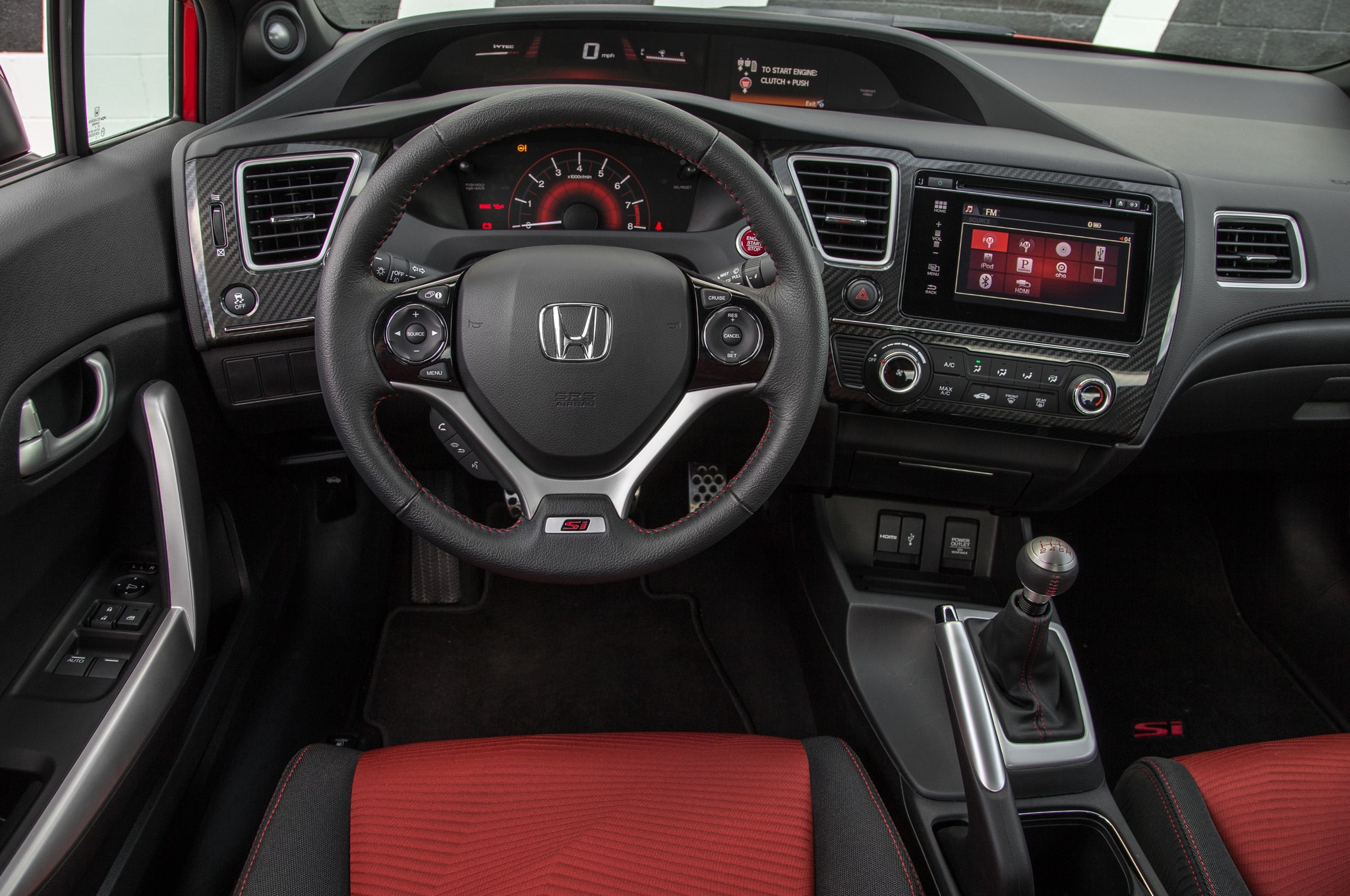 2014 honda civic si from forza video games brought to life - 2016 honda civic si coupe interior ...