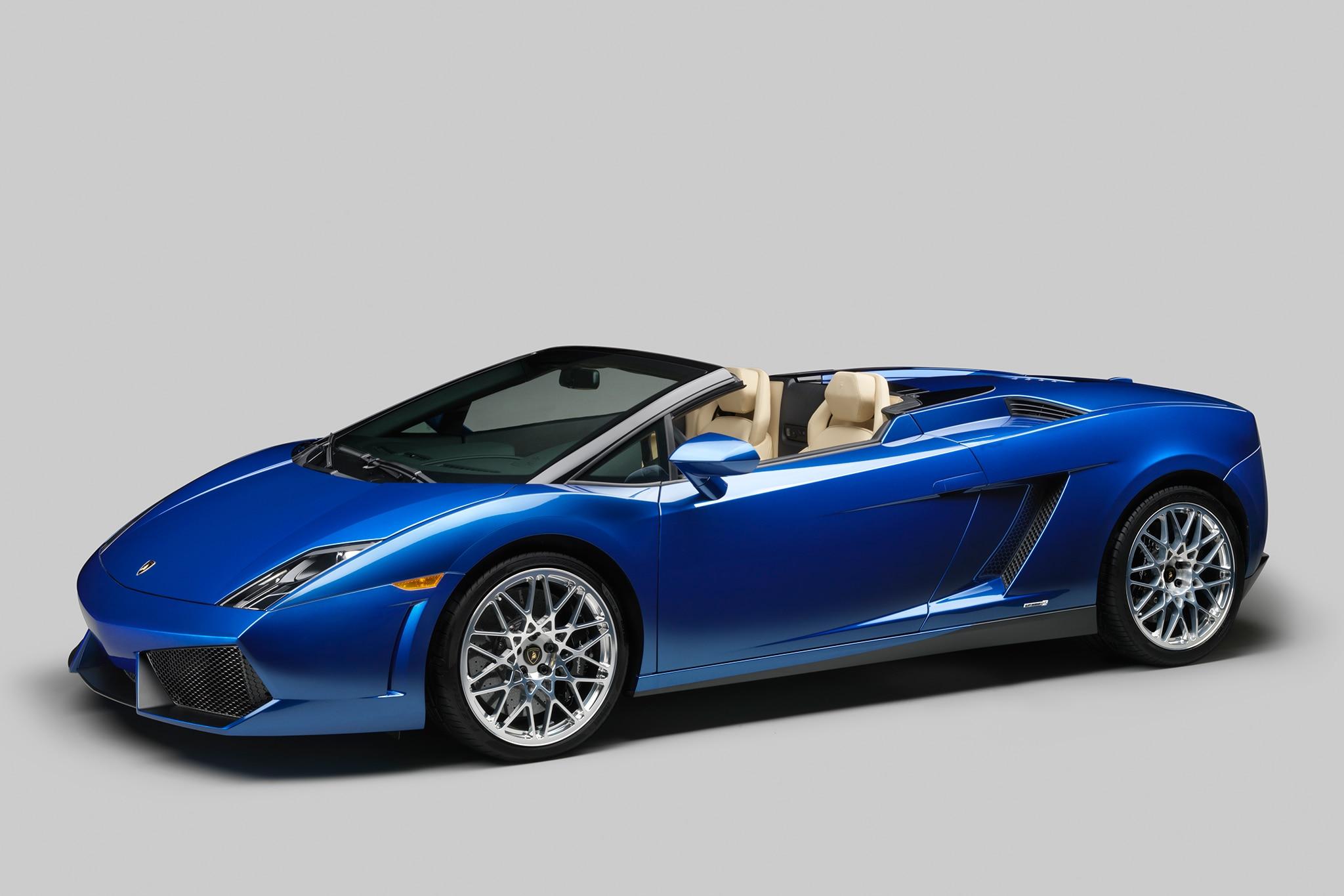 2014 Lamborghini Gallardo LP 550 2 Spyder