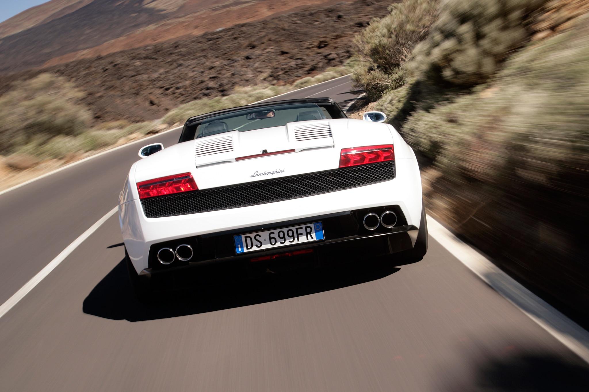 2014 Lamborghini Gallardo LP 560 4 Spyder