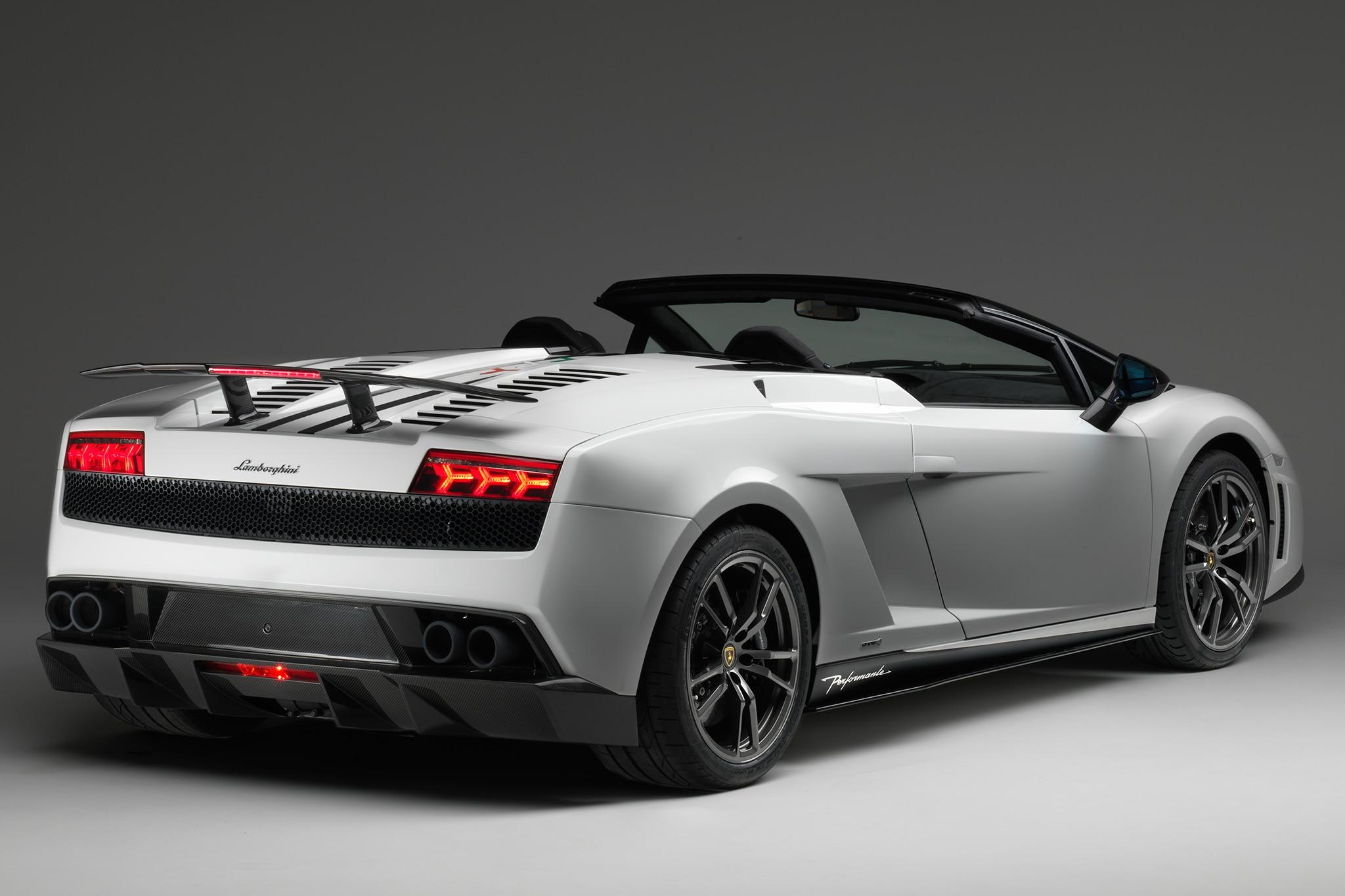 2014 Lamborghini Gallardo LP 570 4 Spyder Performante