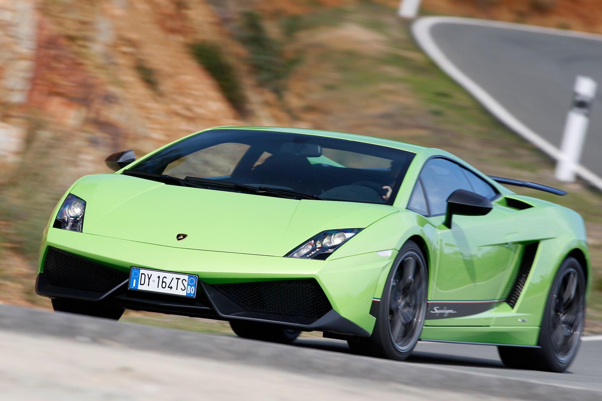 2014 Lamborghini Gallardo LP 570 4 Superleggera