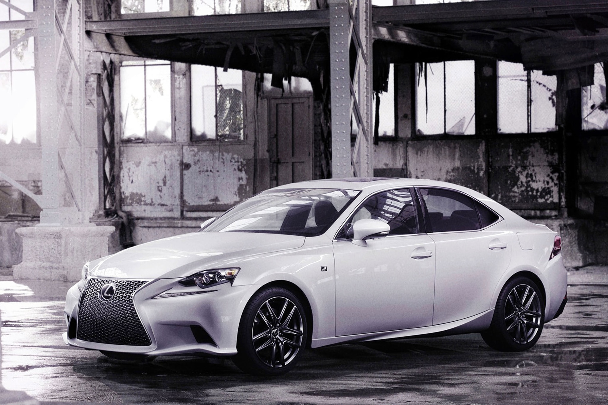 Japanese Spec 2014 Lexus IS F Sport Spiced Up With TRD Parts